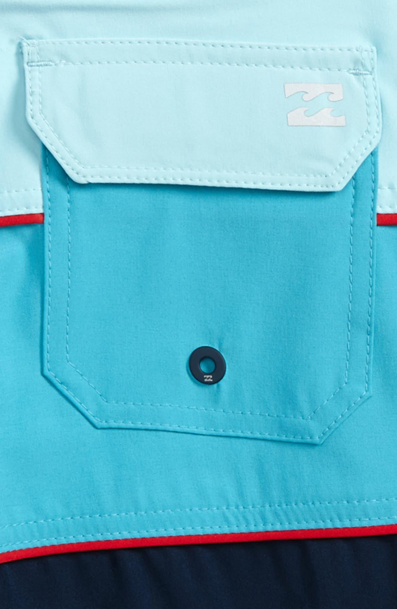 Tribong X Board Shorts,                             Alternate thumbnail 3, color,                             Navy