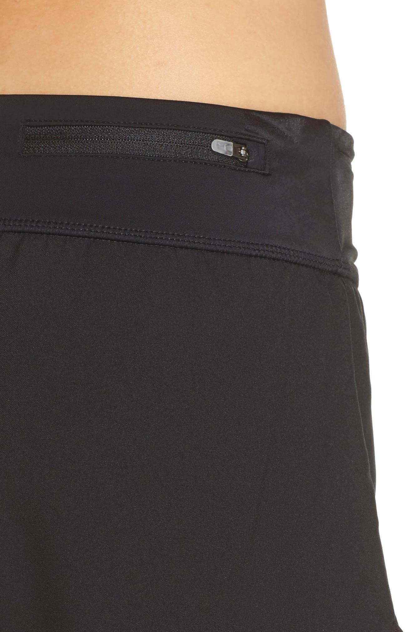 Swim Board Shorts,                             Alternate thumbnail 4, color,                             Black
