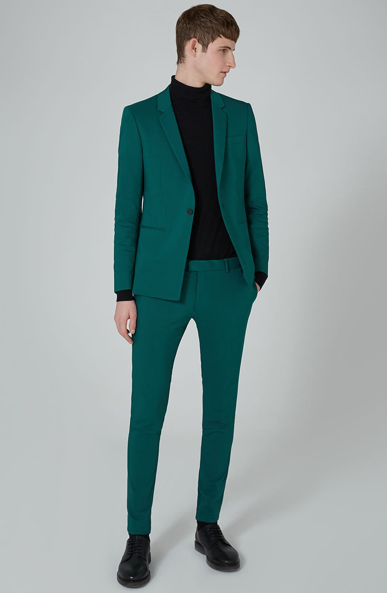 Topman Skinny Suit Jacket & Trousers