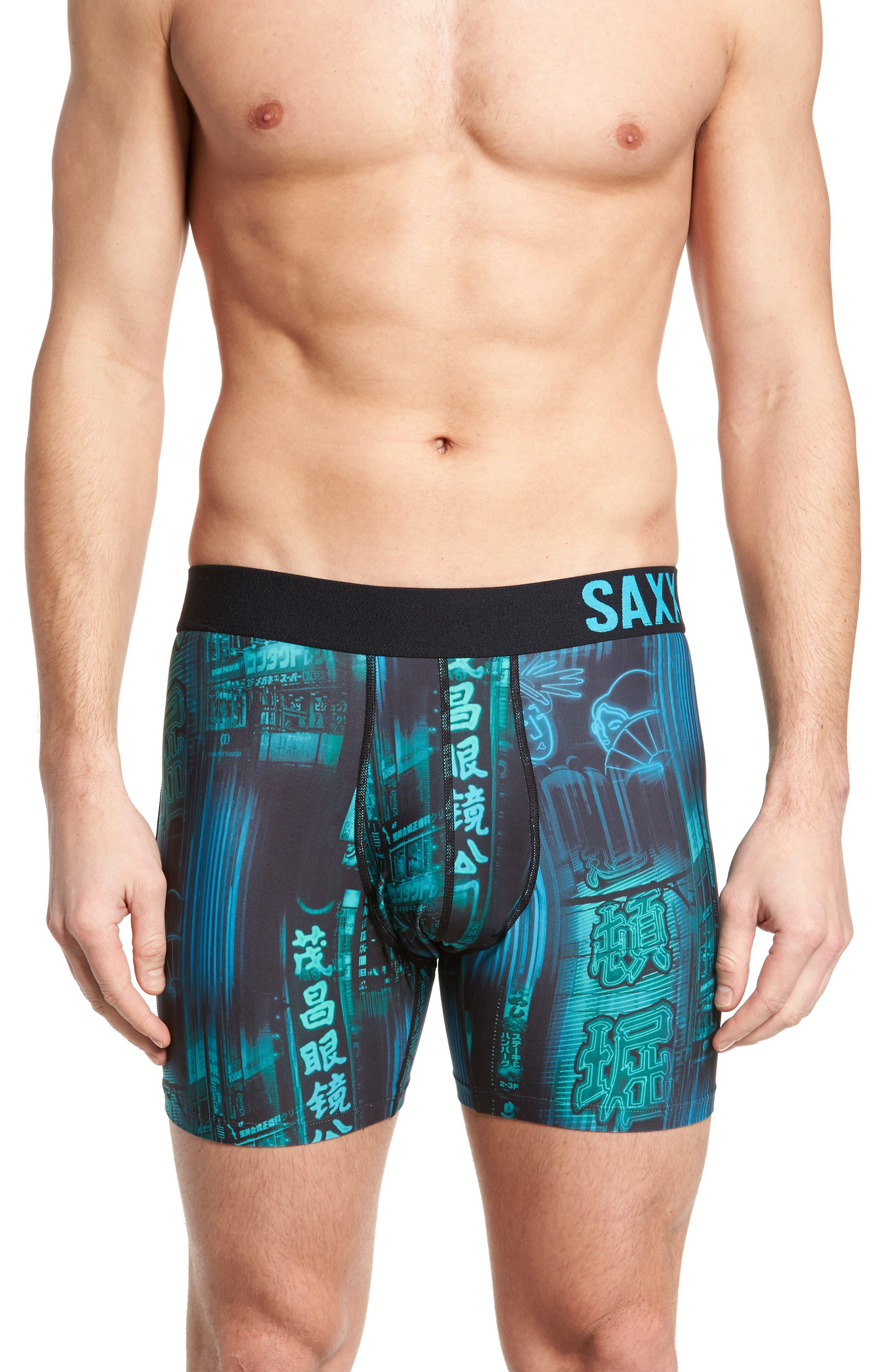 SAXX Fuse Neon Signs Boxer Briefs