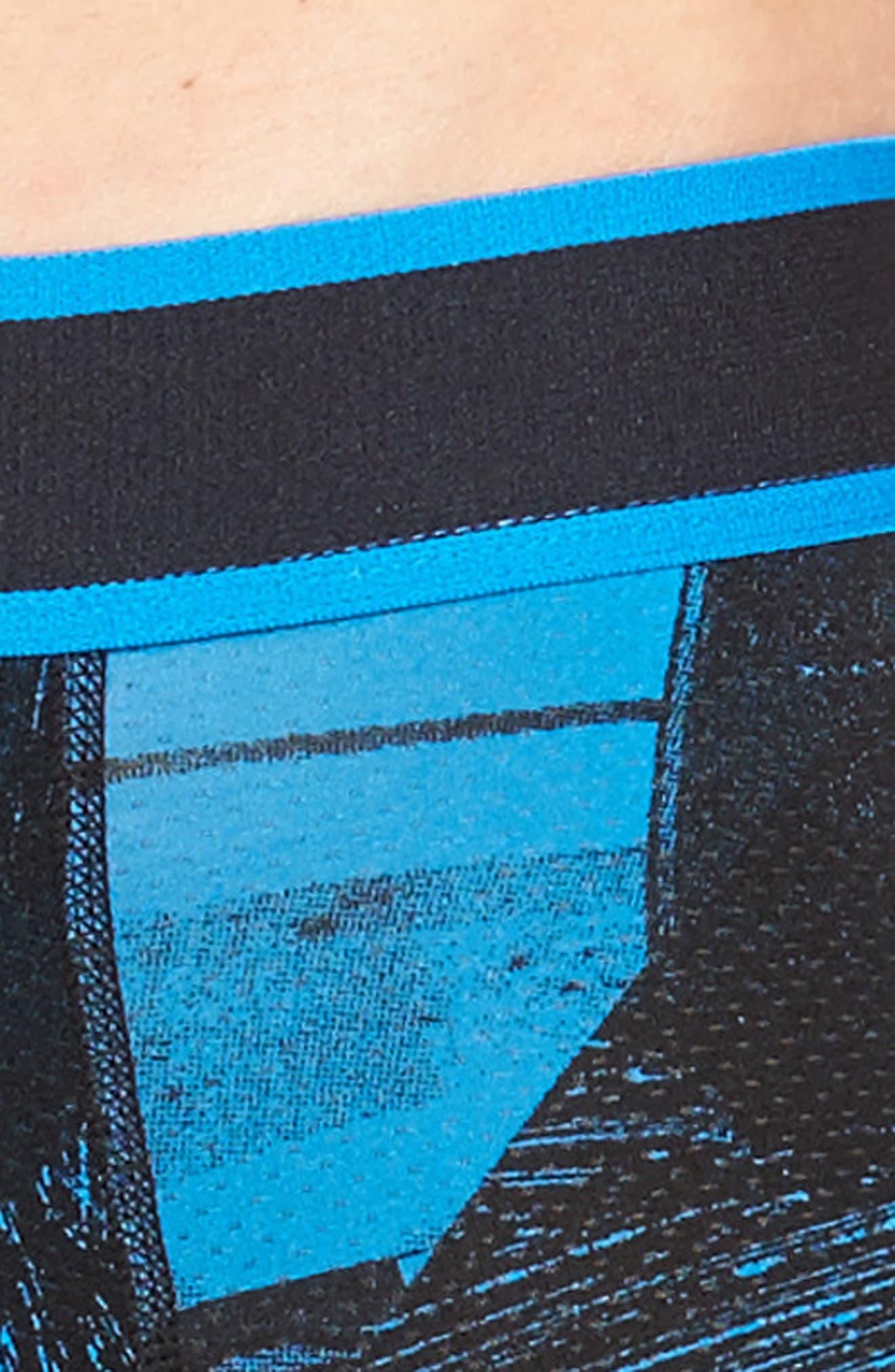 Kinetic Neon Palms Boxer Briefs,                             Alternate thumbnail 4, color,                             Palm Sketch