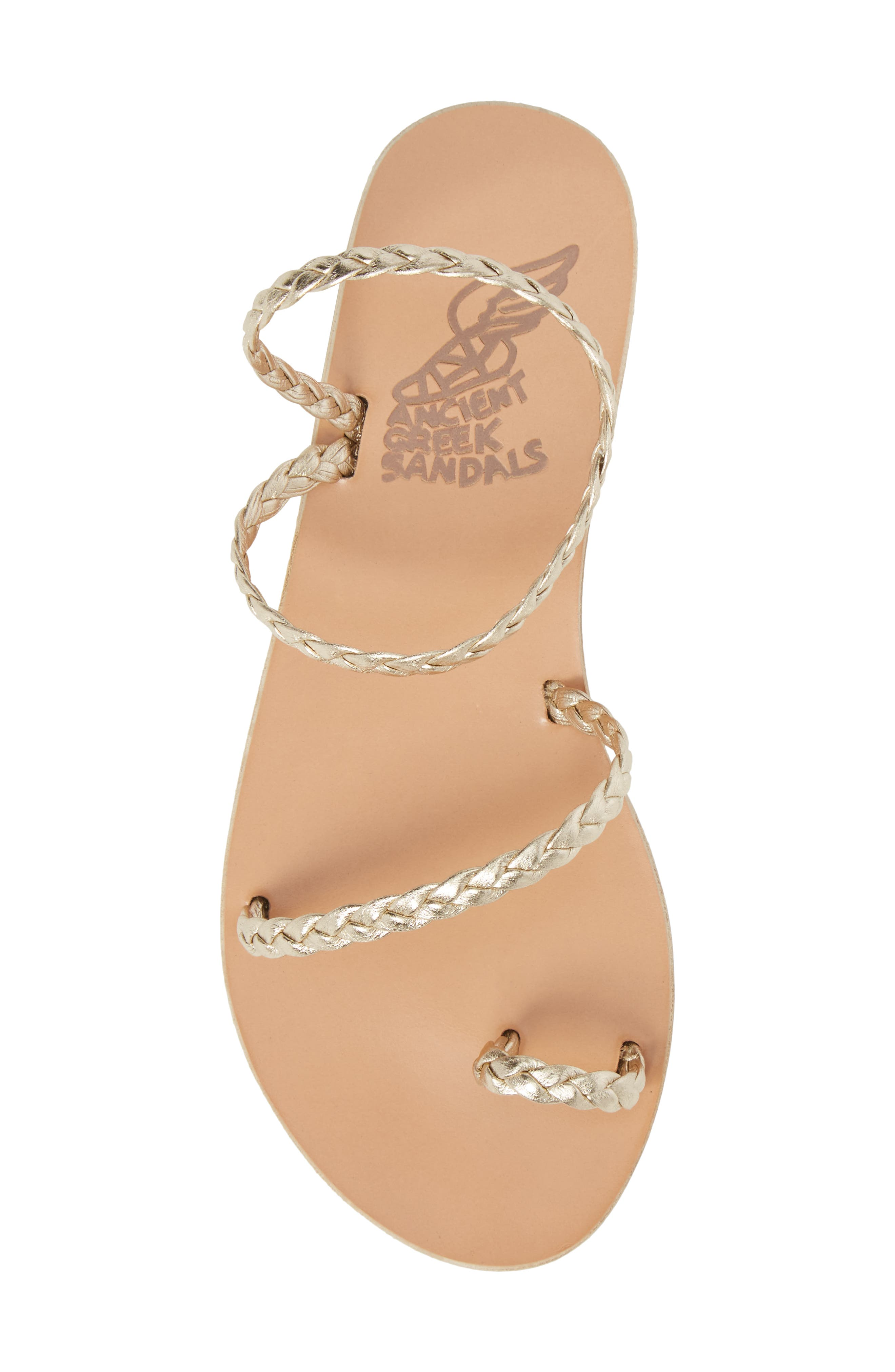 Eleftheria Sandal,                             Alternate thumbnail 5, color,                             Platinum