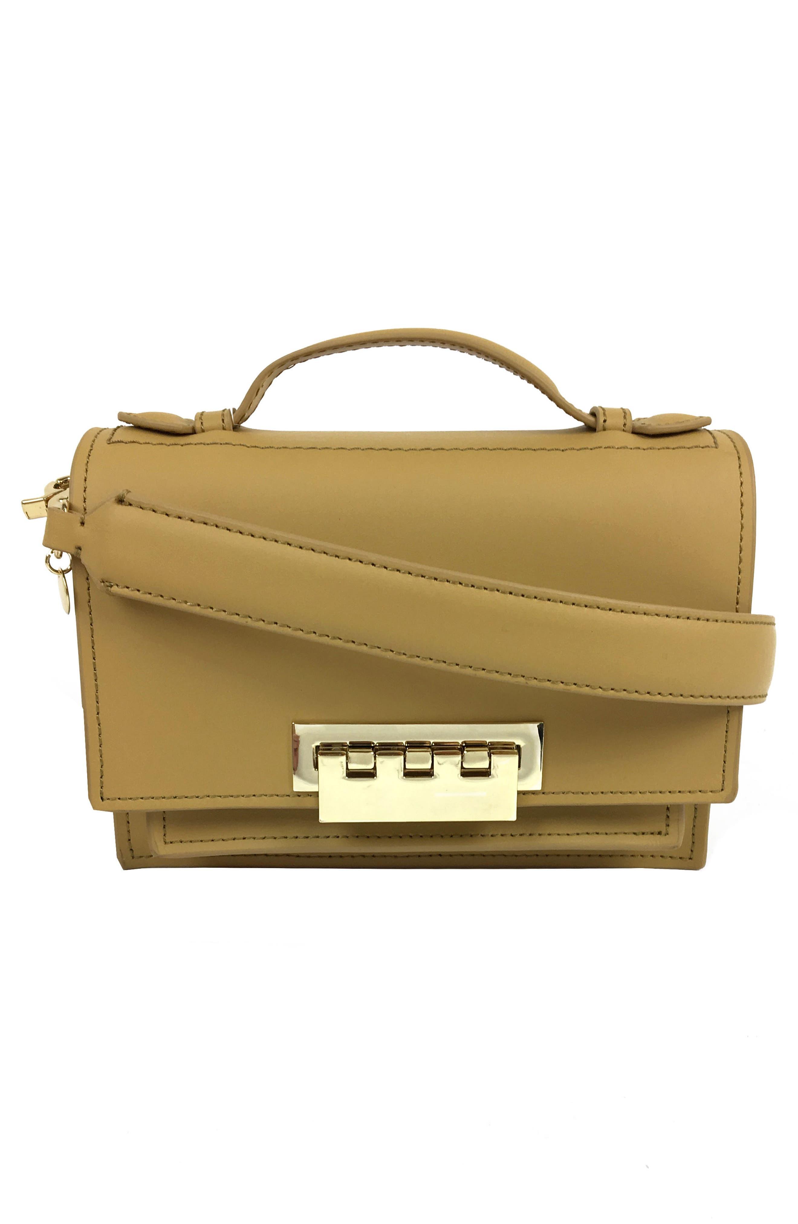 Main Image - ZAC Zac Posen Earthette Leather Accordion Bag