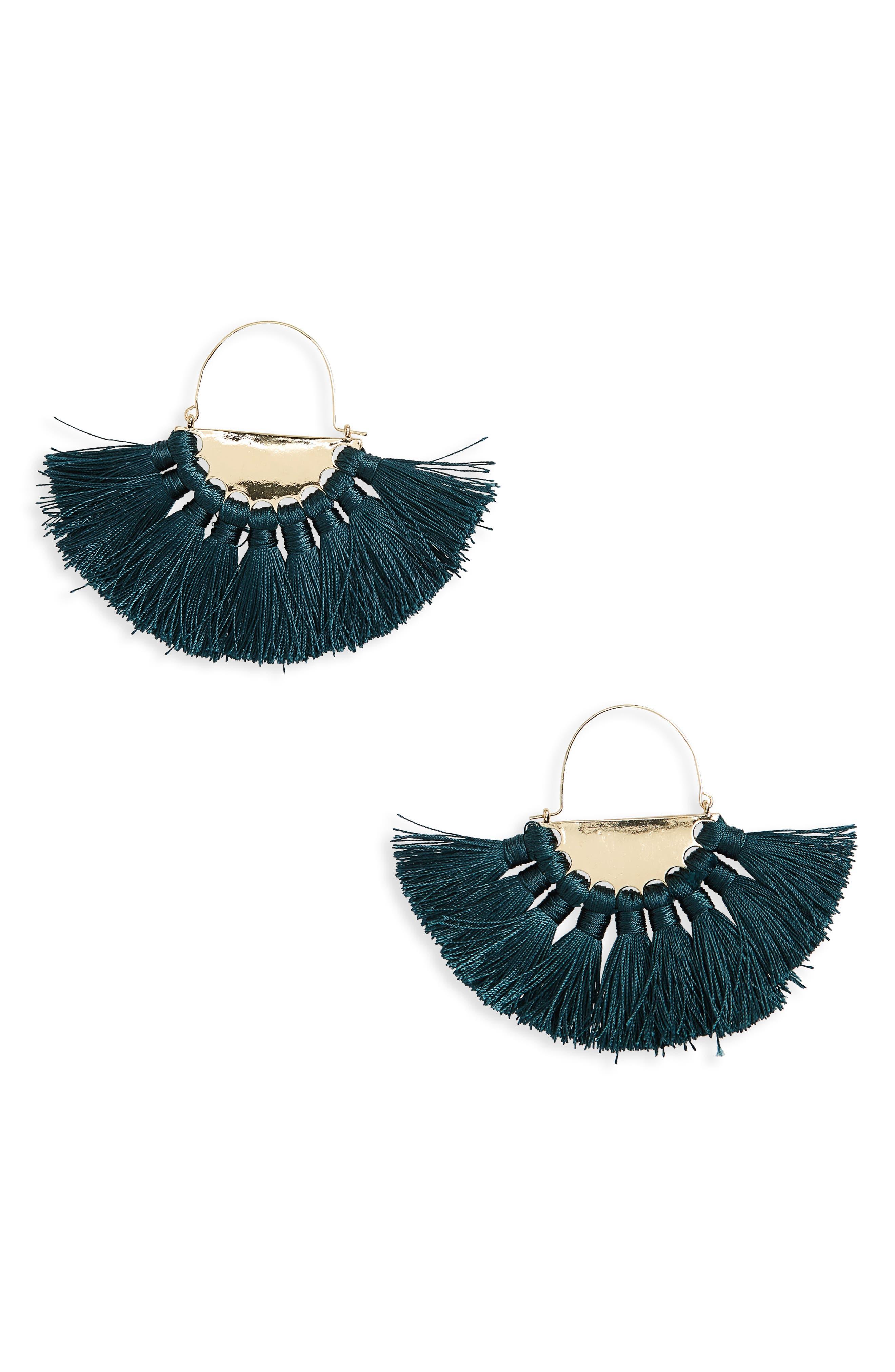 Main Image - BP. Oversize Fan Earrings