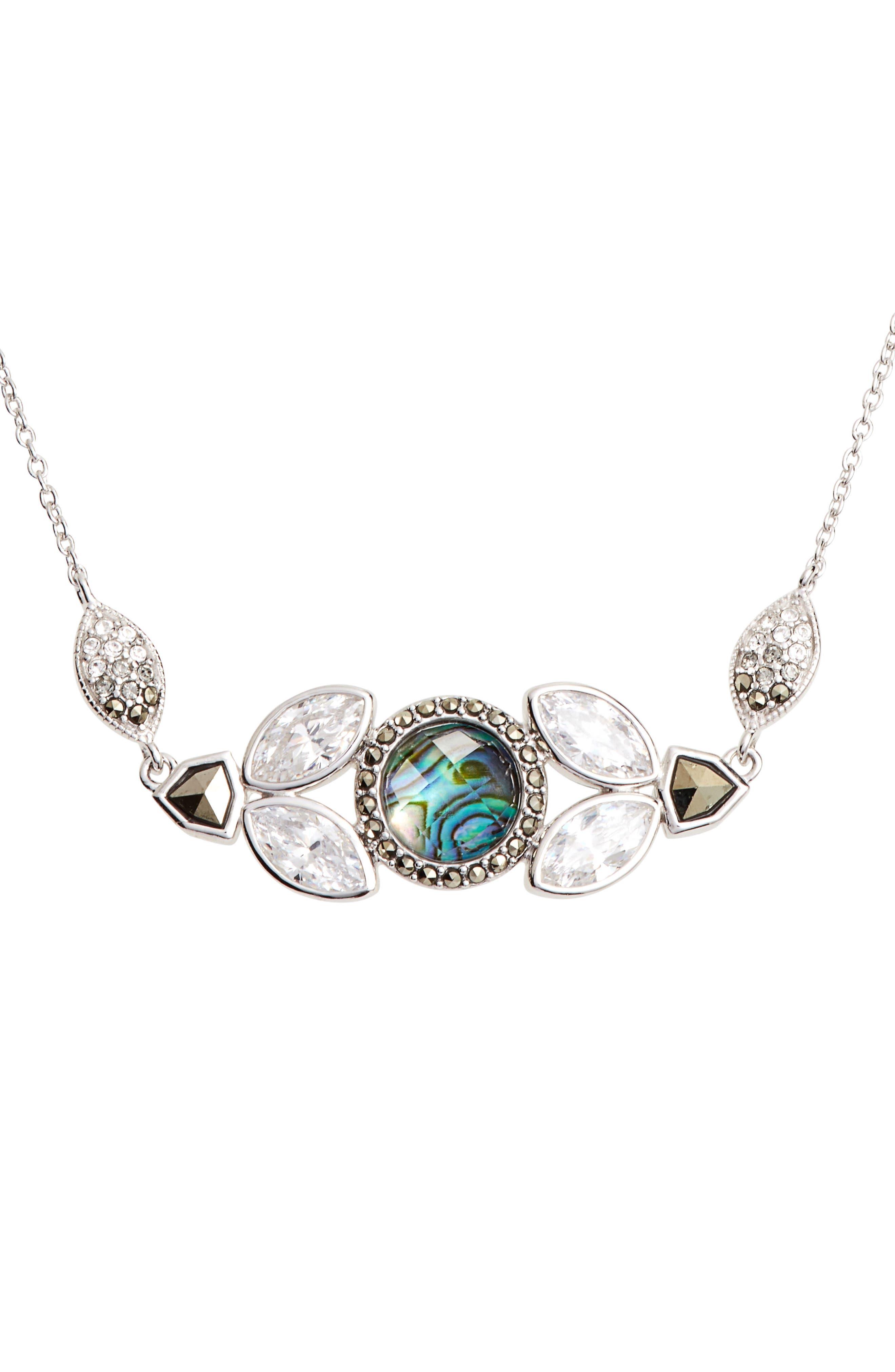Alternate Image 1 Selected - Judith Jack Crystal Pendant Necklace