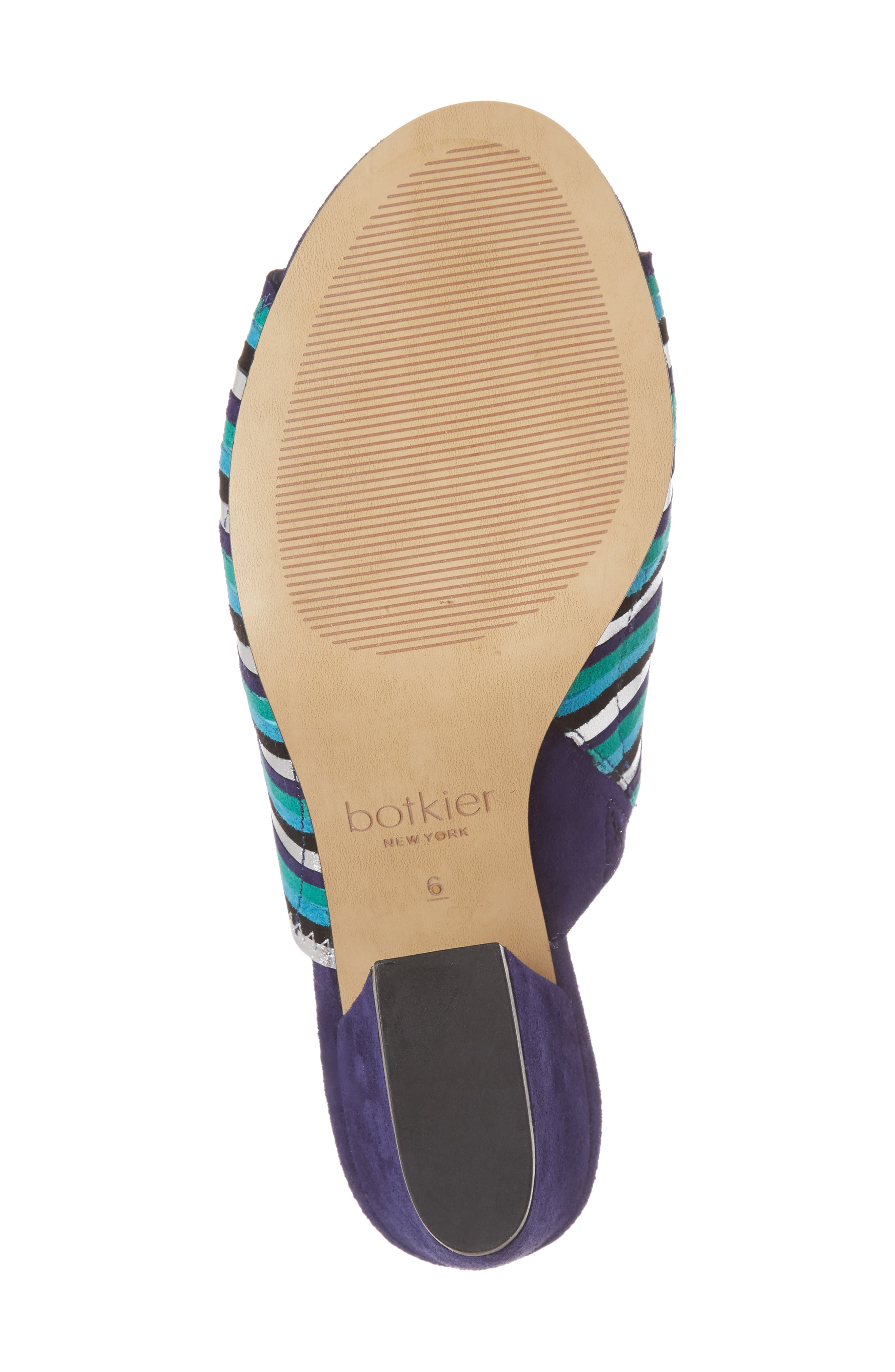 Posie Sandal,                             Alternate thumbnail 6, color,                             Ultra Marine Suede