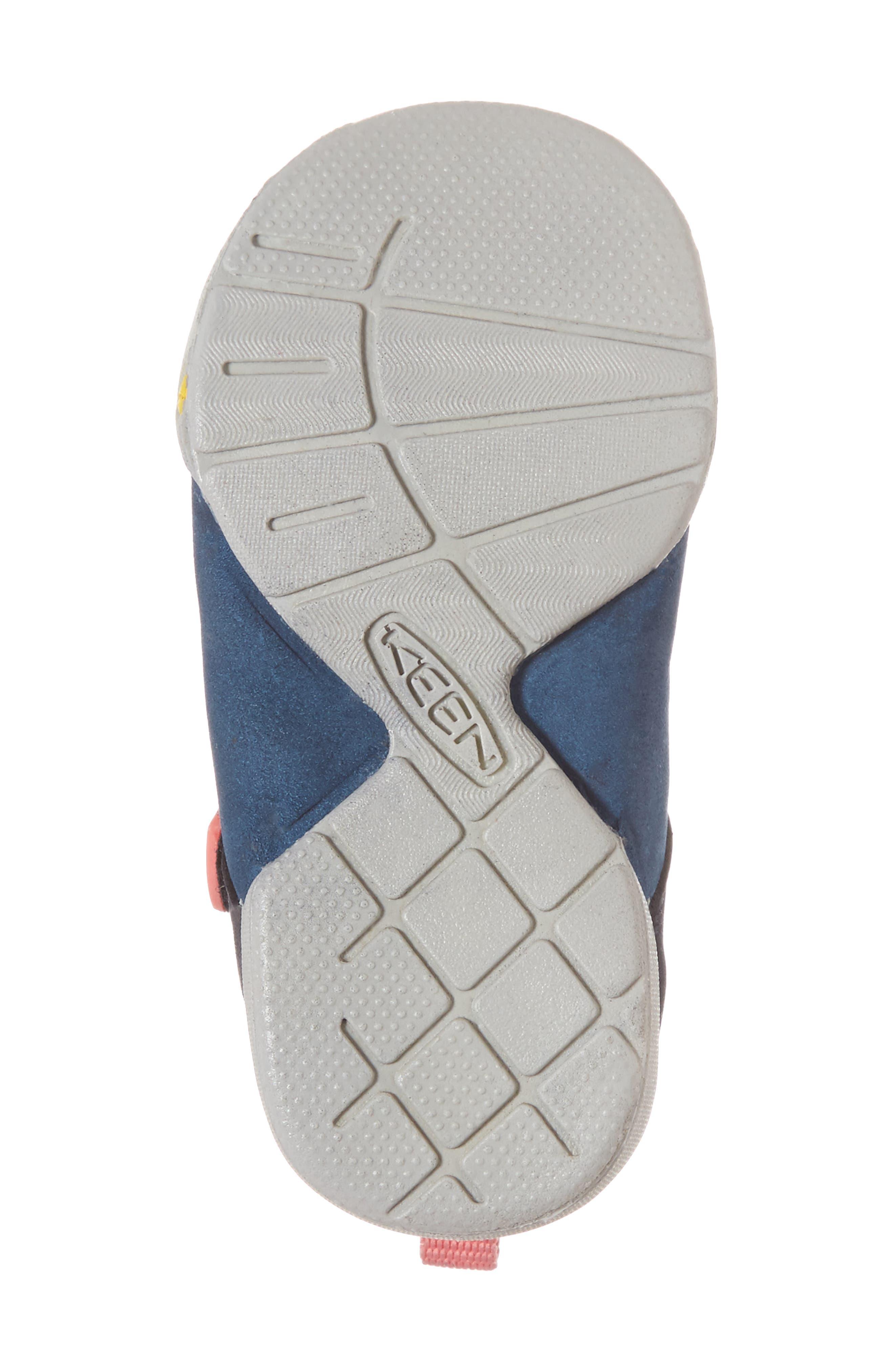 Pep Mary Jane-T Sneaker,                             Alternate thumbnail 6, color,                             Dress Blues/ Sugar Coral