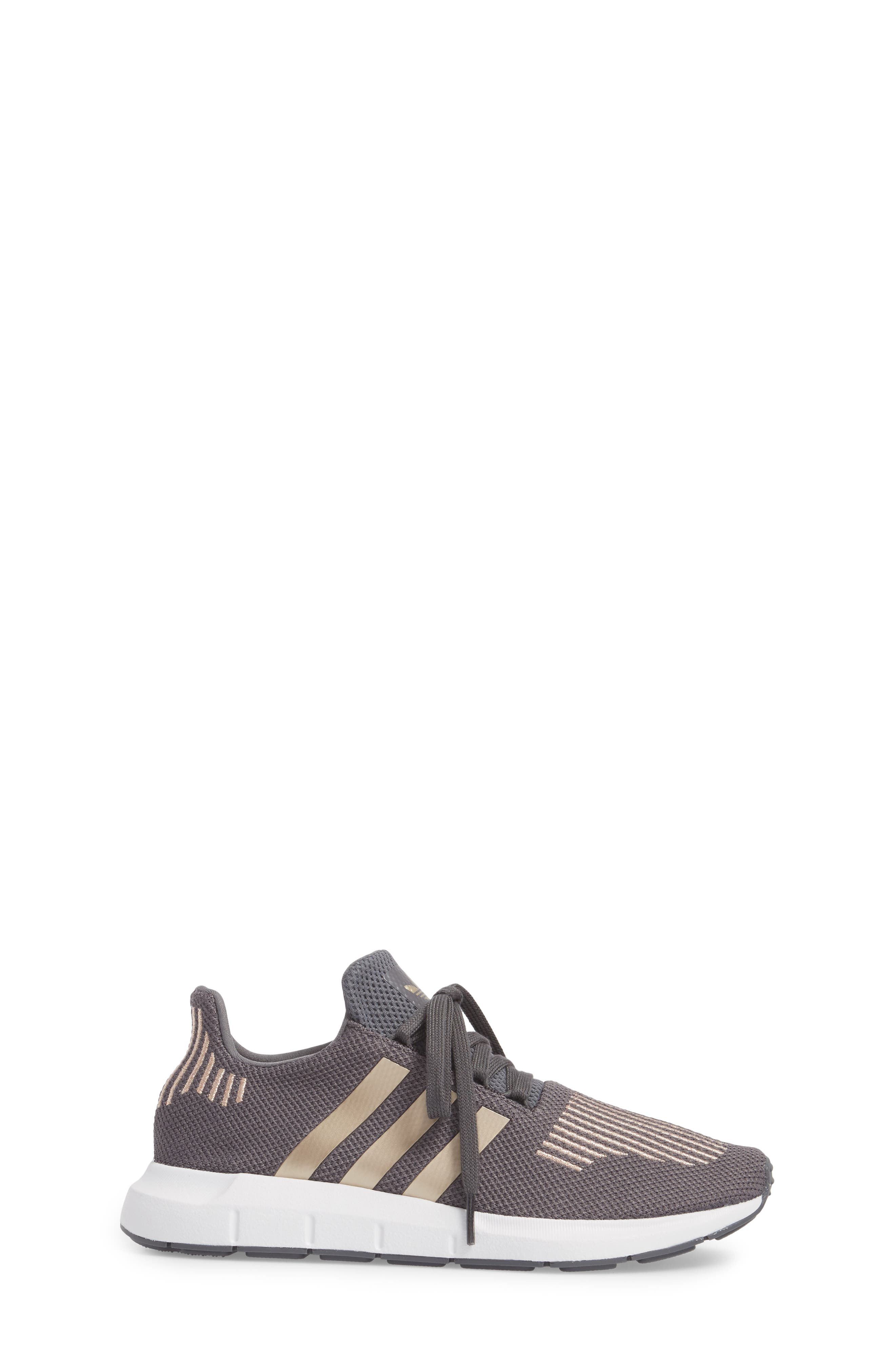 Swift Run Sneaker,                             Alternate thumbnail 3, color,                             Grey / Copper / White