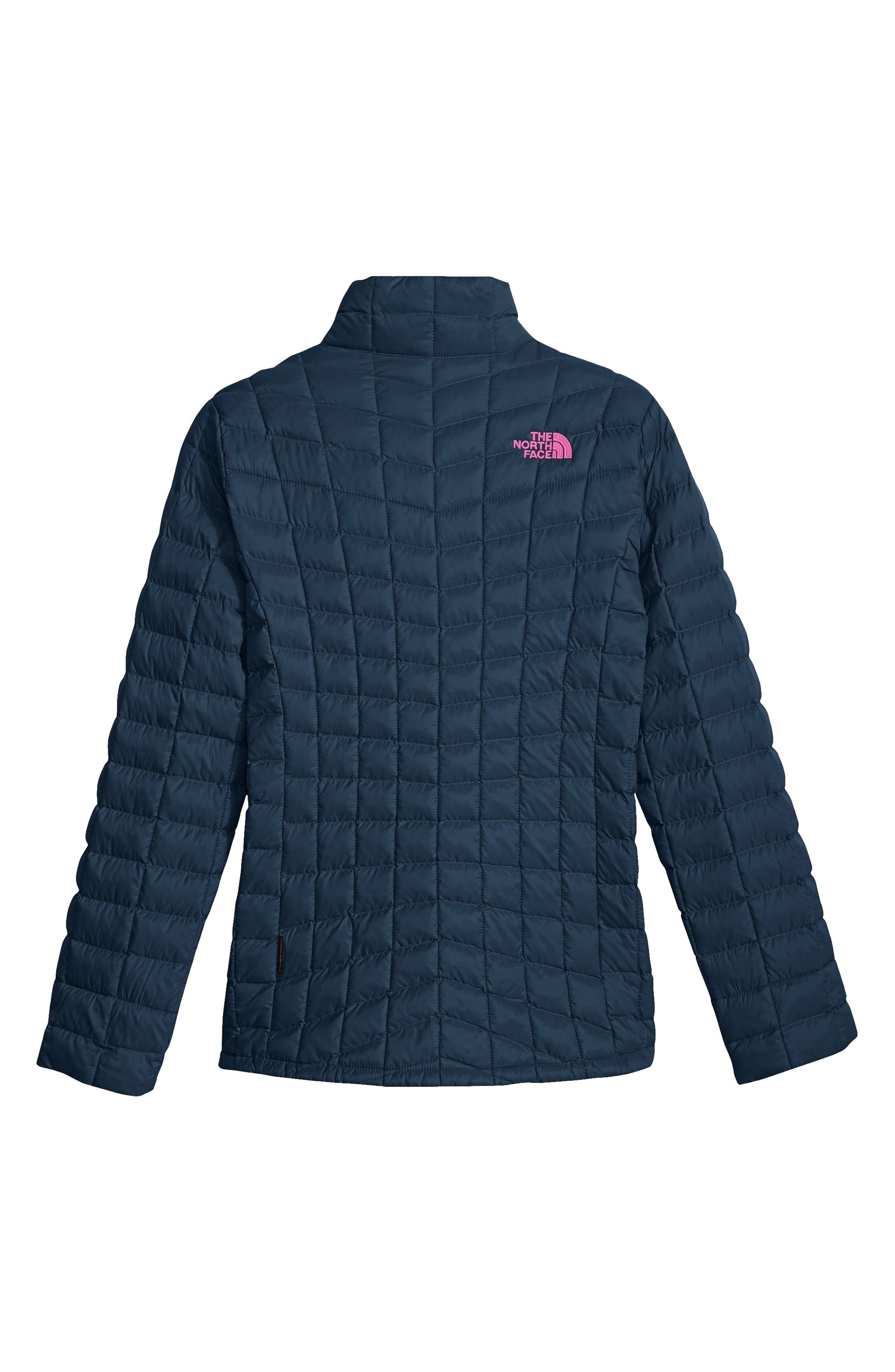 Alternate Image 2  - The North Face ThermoBall™ PrimaLoft® Quilted Jacket (Big Girls)