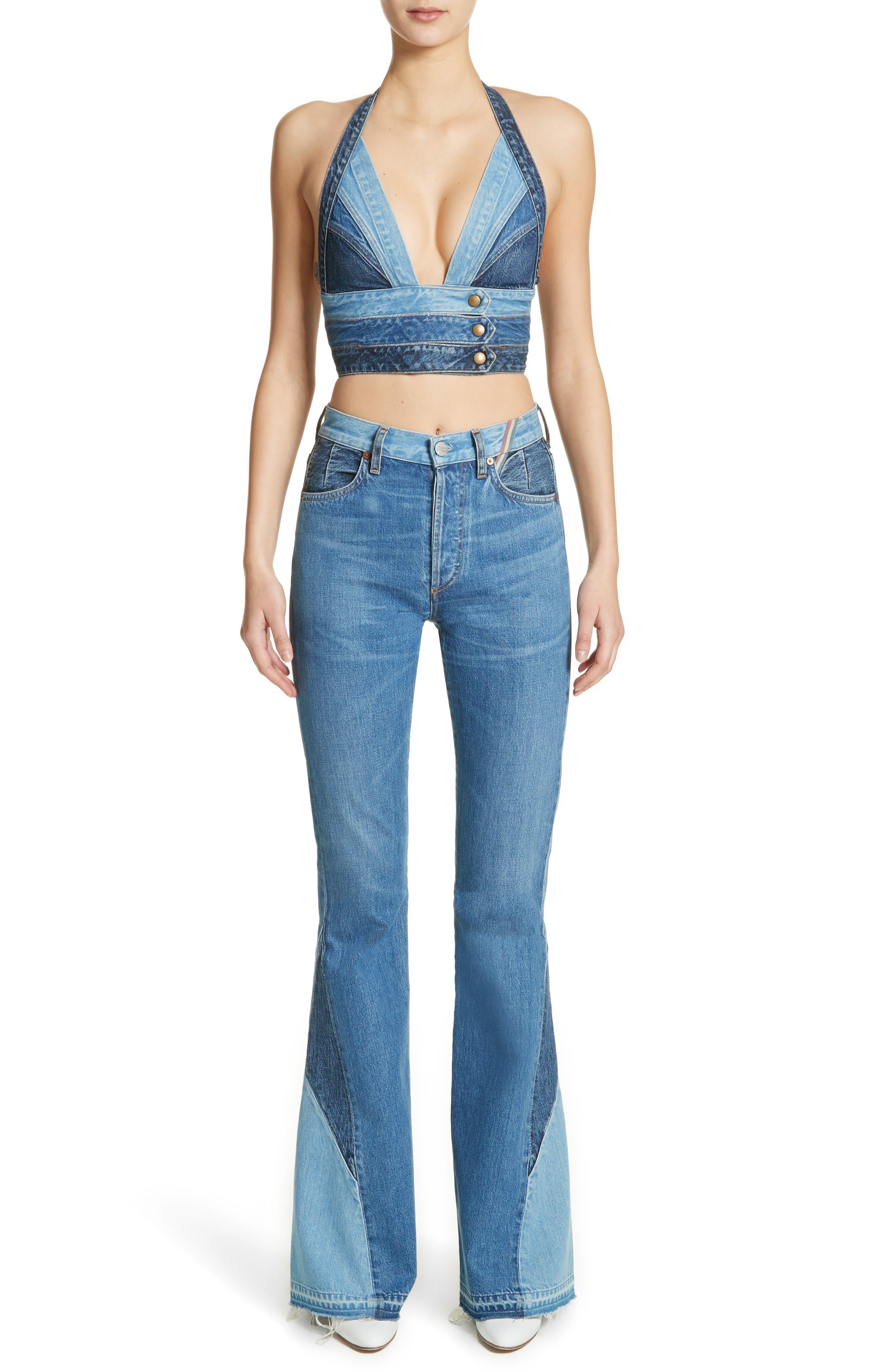 Alternate Image 8  - Jean Atelier Janis High Rise Flare Jeans (Jagger)