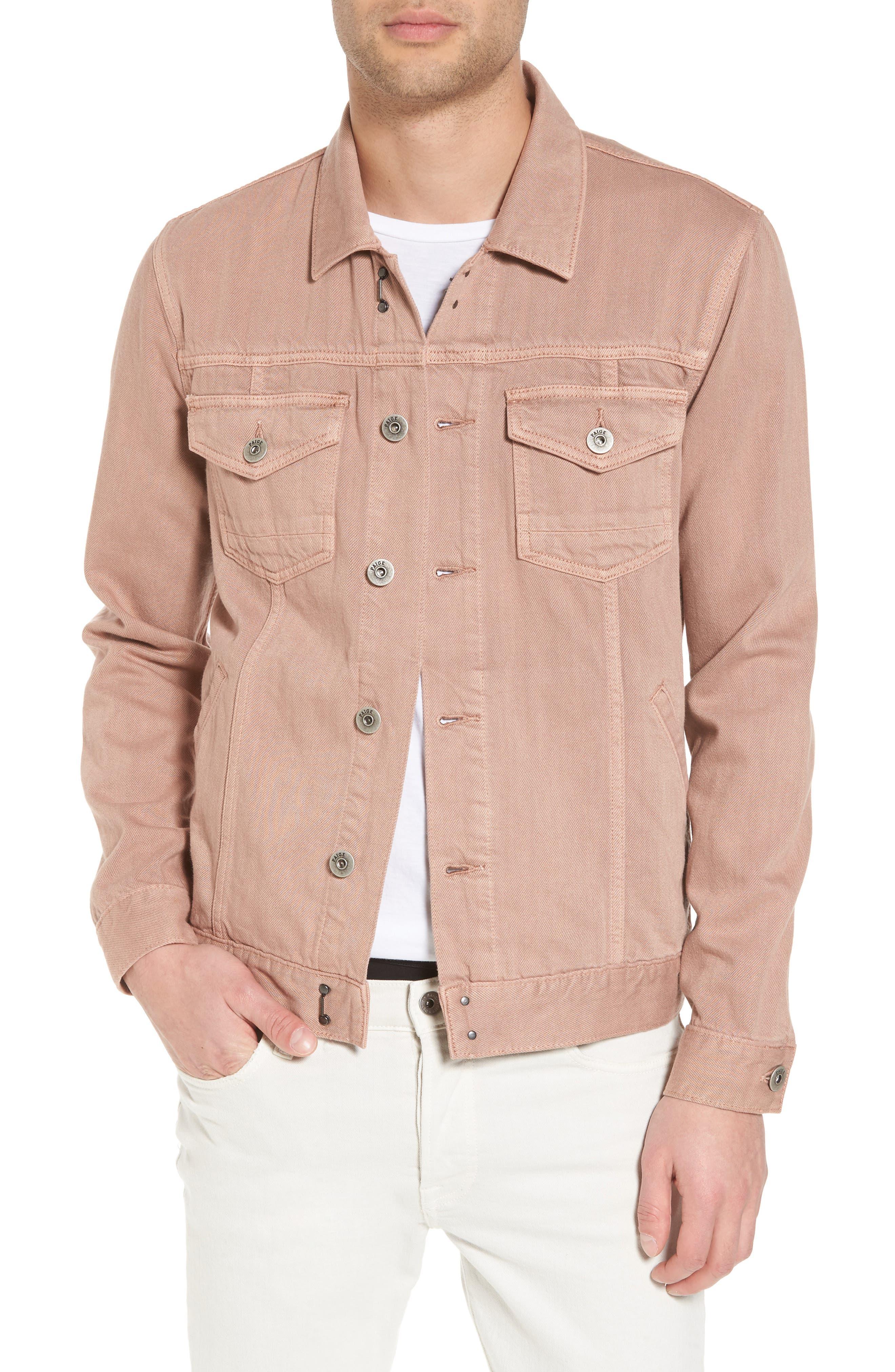 Scout Denim Jacket,                         Main,                         color, Vintage Dusty Rose
