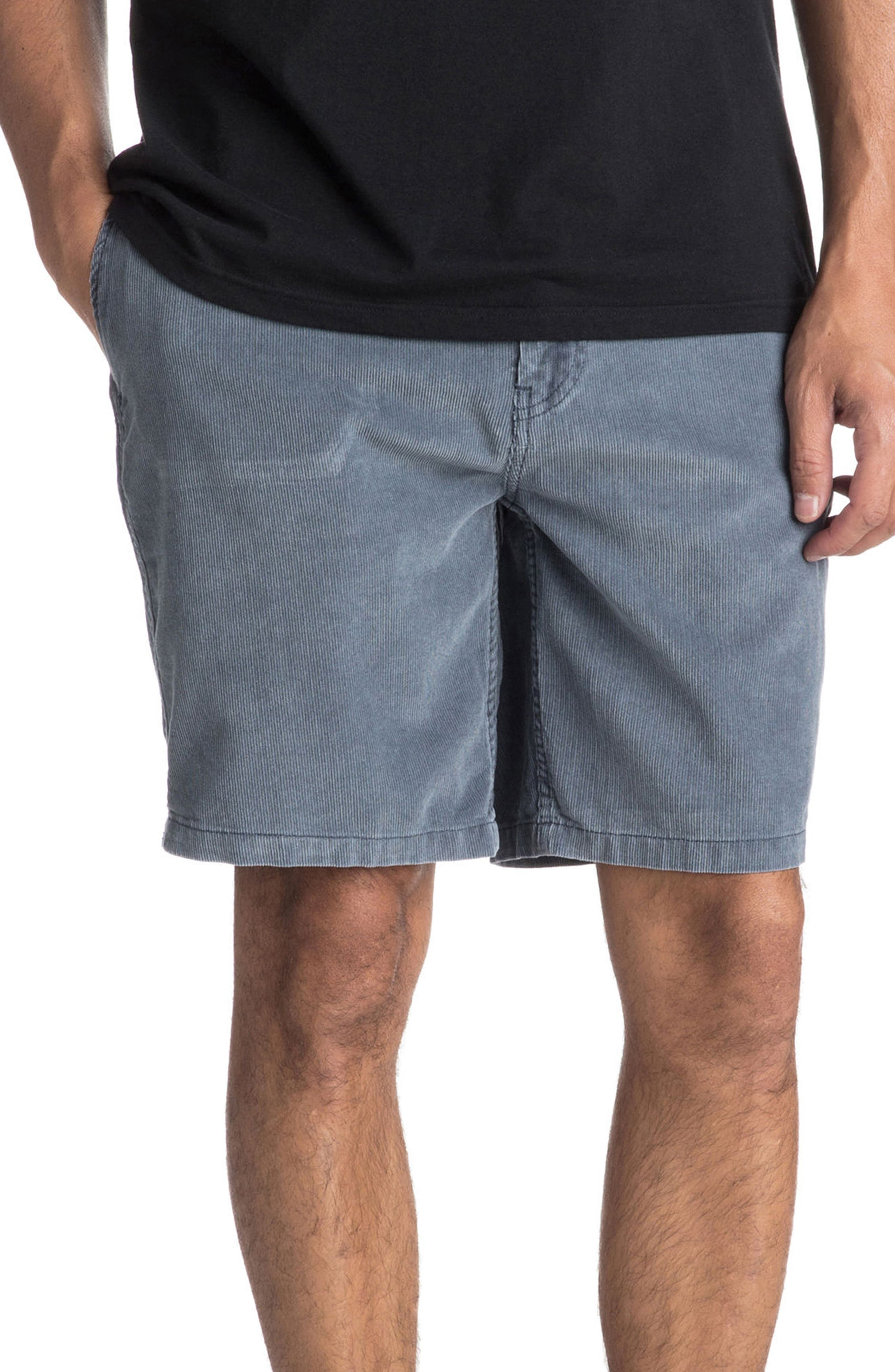 Peaky Mind Shorts,                             Main thumbnail 1, color,                             Ombre Blue