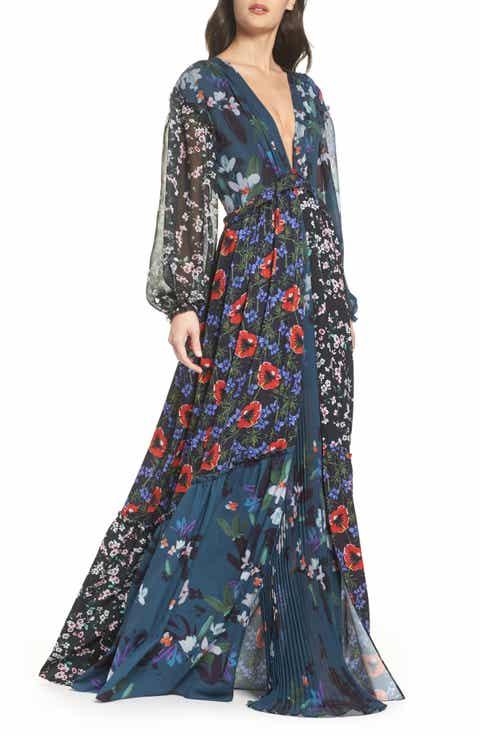 French Connection Celia Mix Floral Maxi Dress