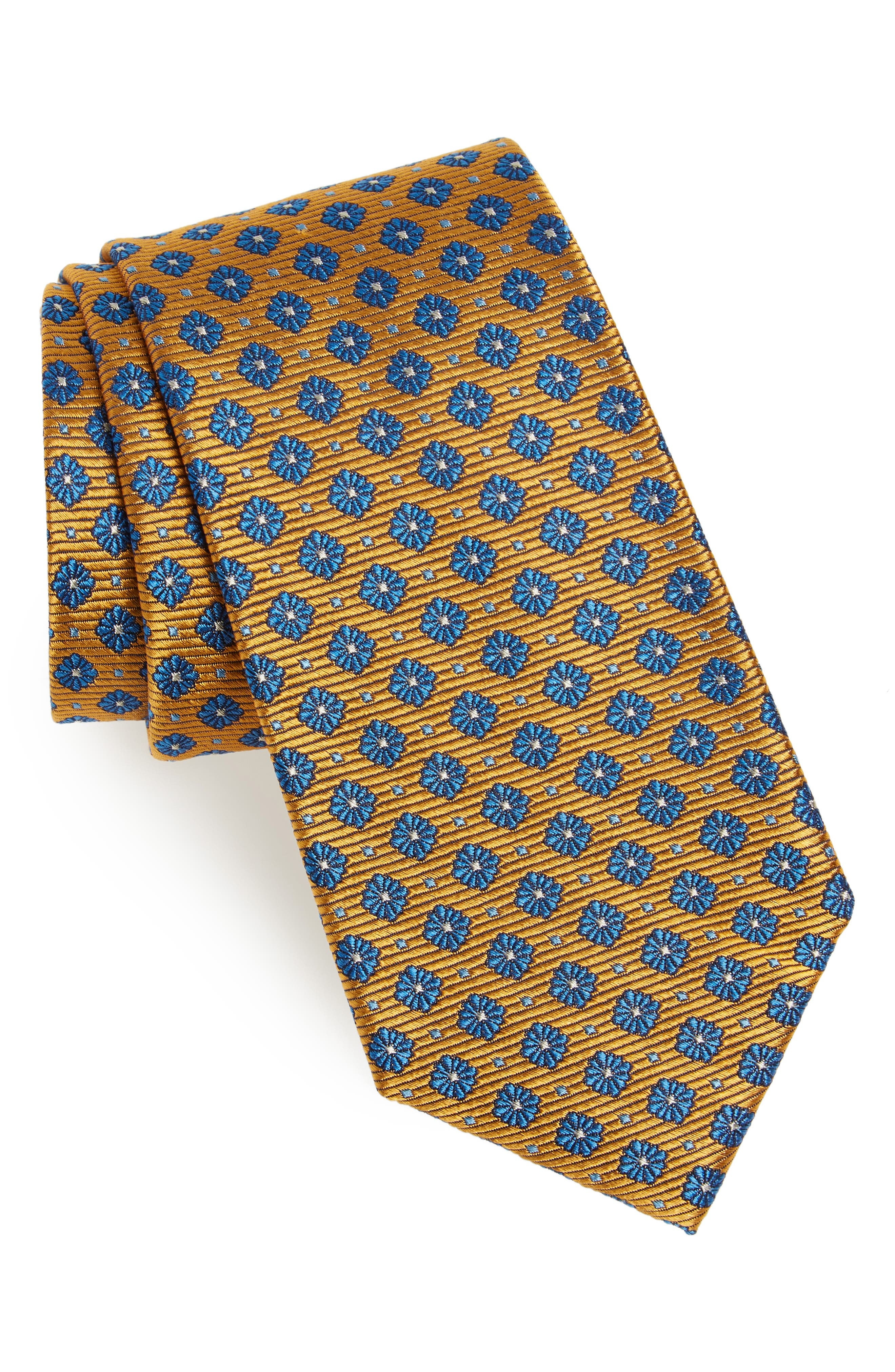 Nordstrom Men's Shop Notting Hill Neat Silk Tie
