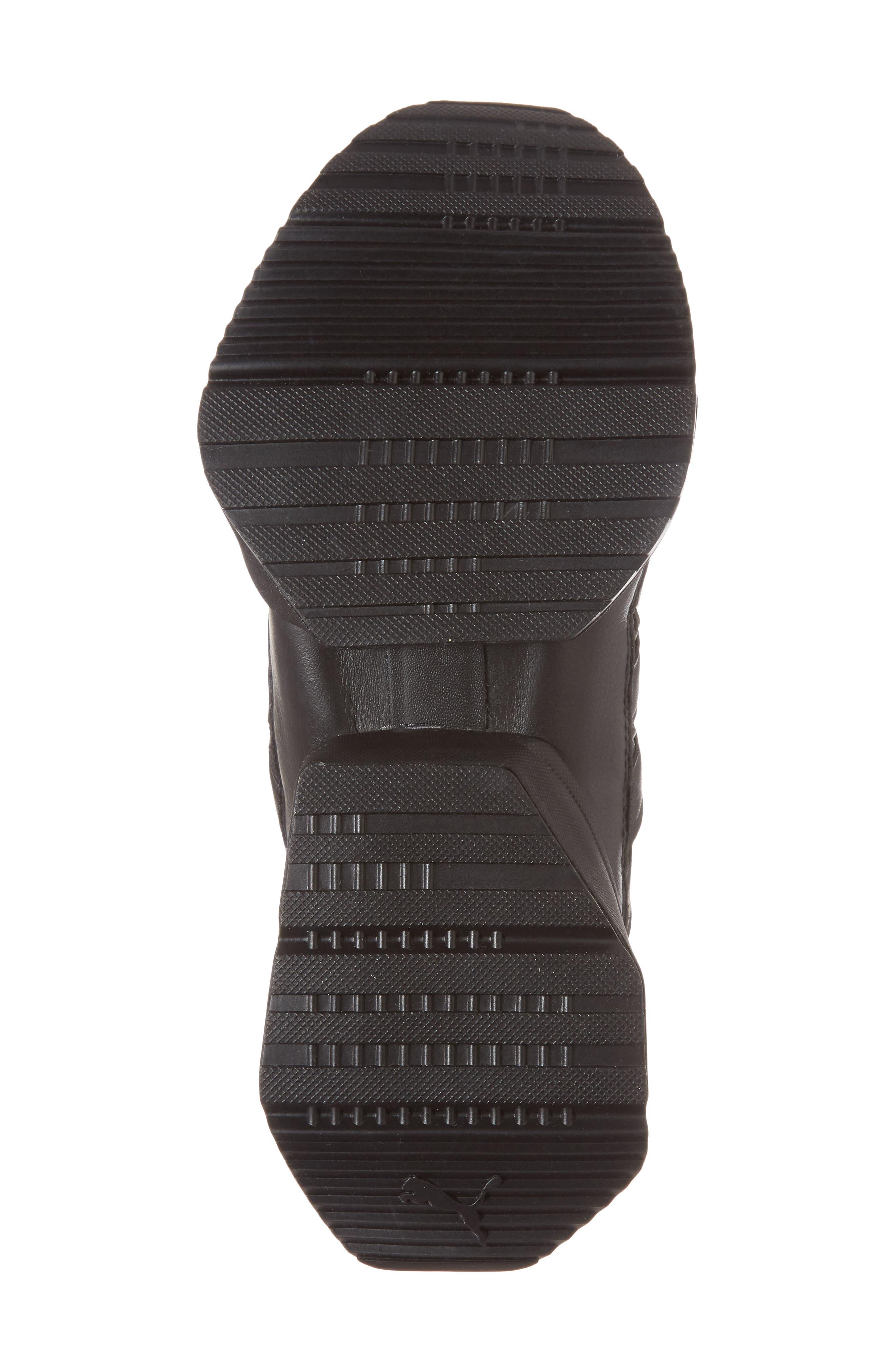 Muse Echo Sneaker,                             Alternate thumbnail 6, color,                             Puma Black