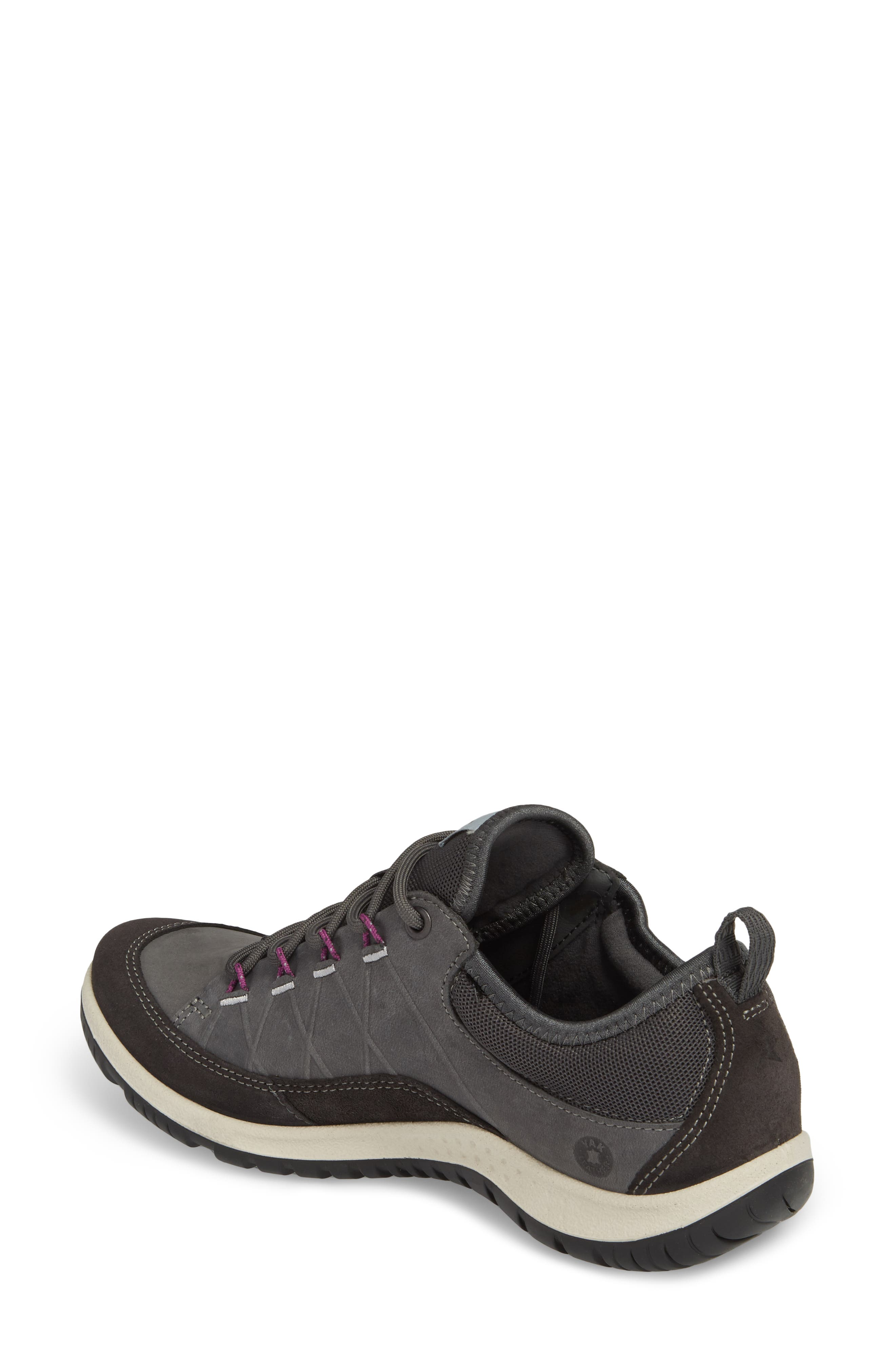 'Aspina' Sneaker,                             Alternate thumbnail 2, color,                             Moonless Leather