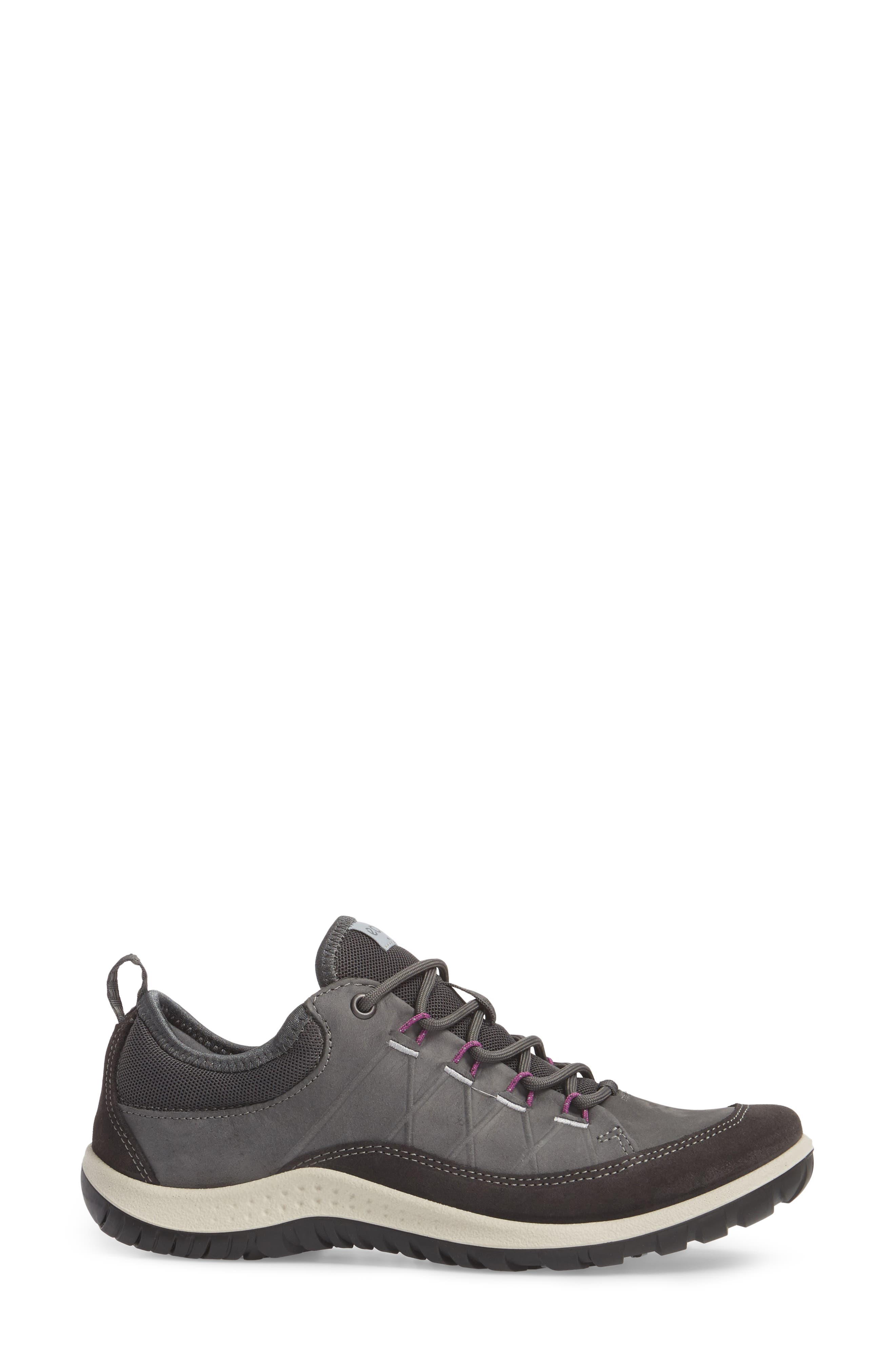 'Aspina' Sneaker,                             Alternate thumbnail 3, color,                             Moonless Leather