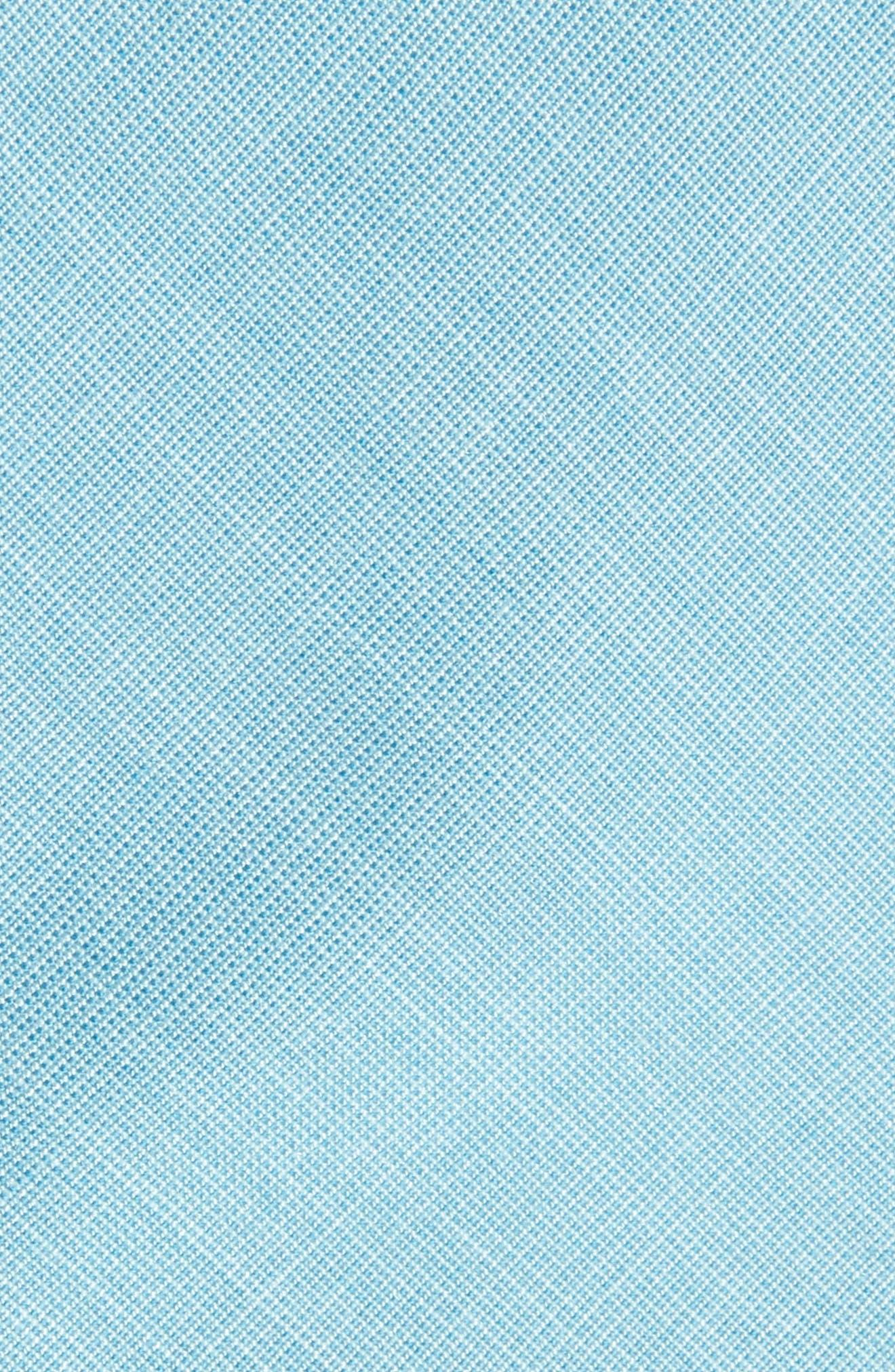 Alternate Image 2  - Nordstrom Men's Shop Jeffry Solid Skinny Tie