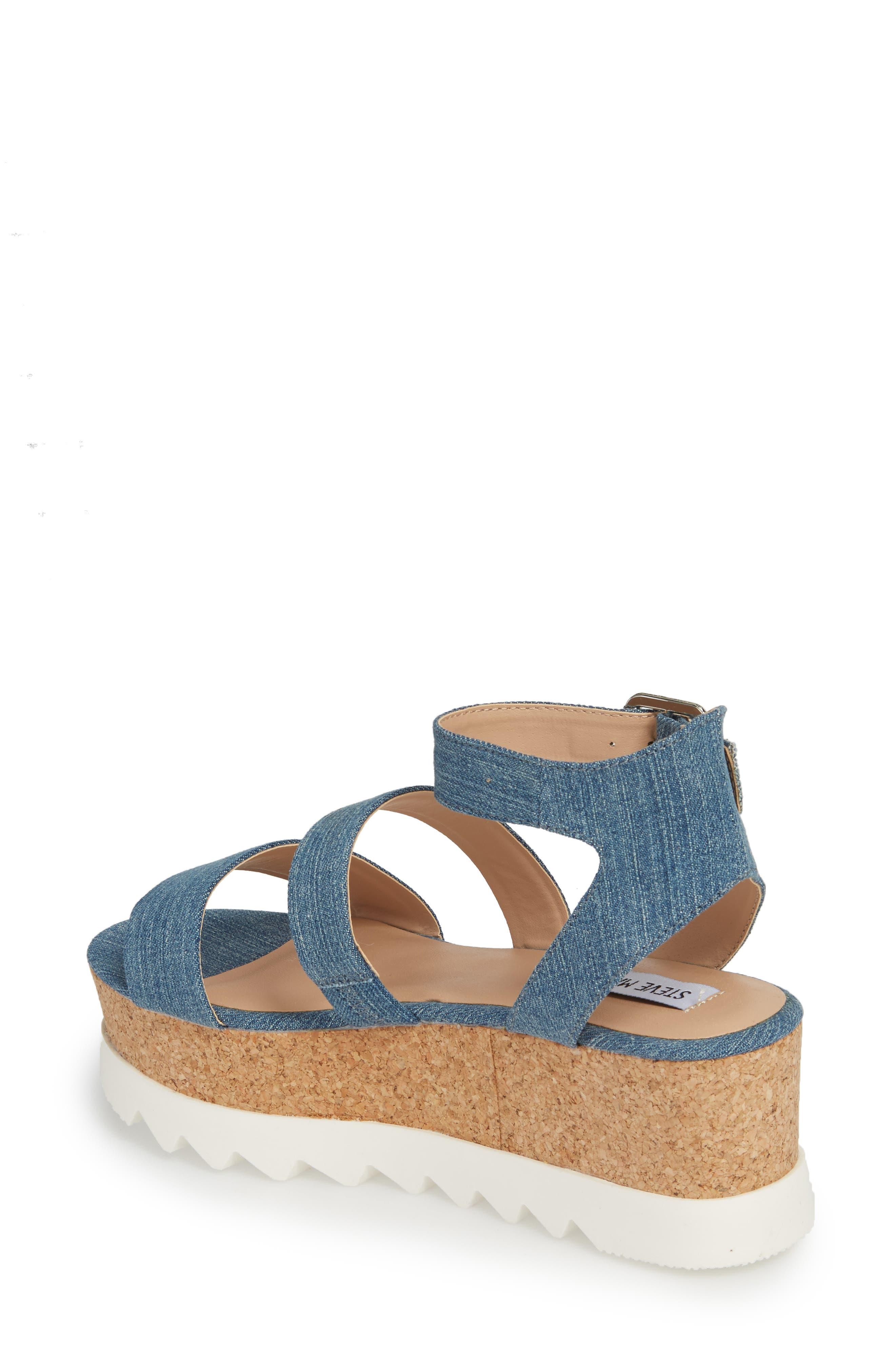 Alternate Image 2  - Steve Madden Kirsten Layered Platform Sandal (Women)