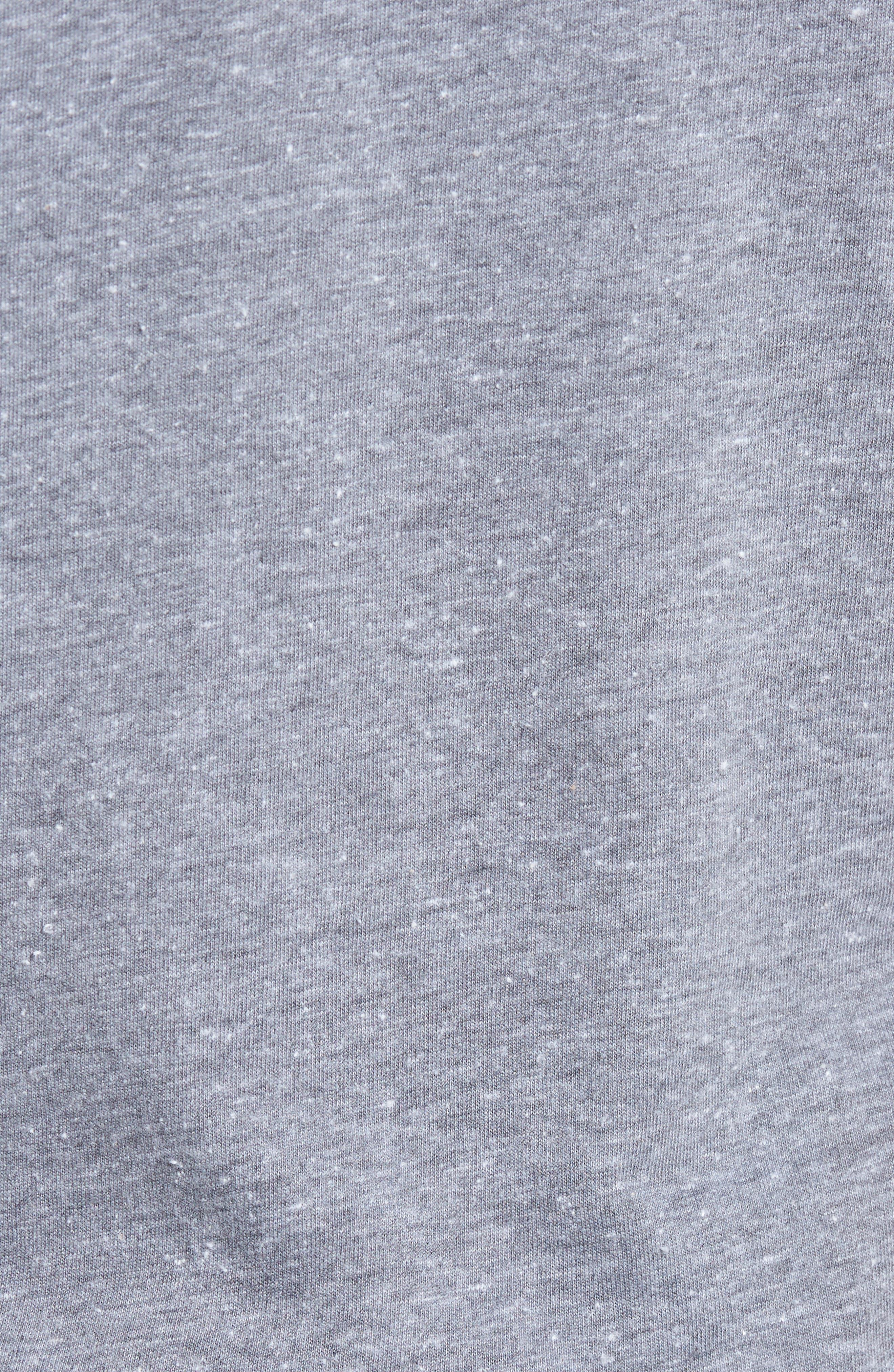 Freedom Graphic T-Shirt,                             Alternate thumbnail 5, color,                             Hematite