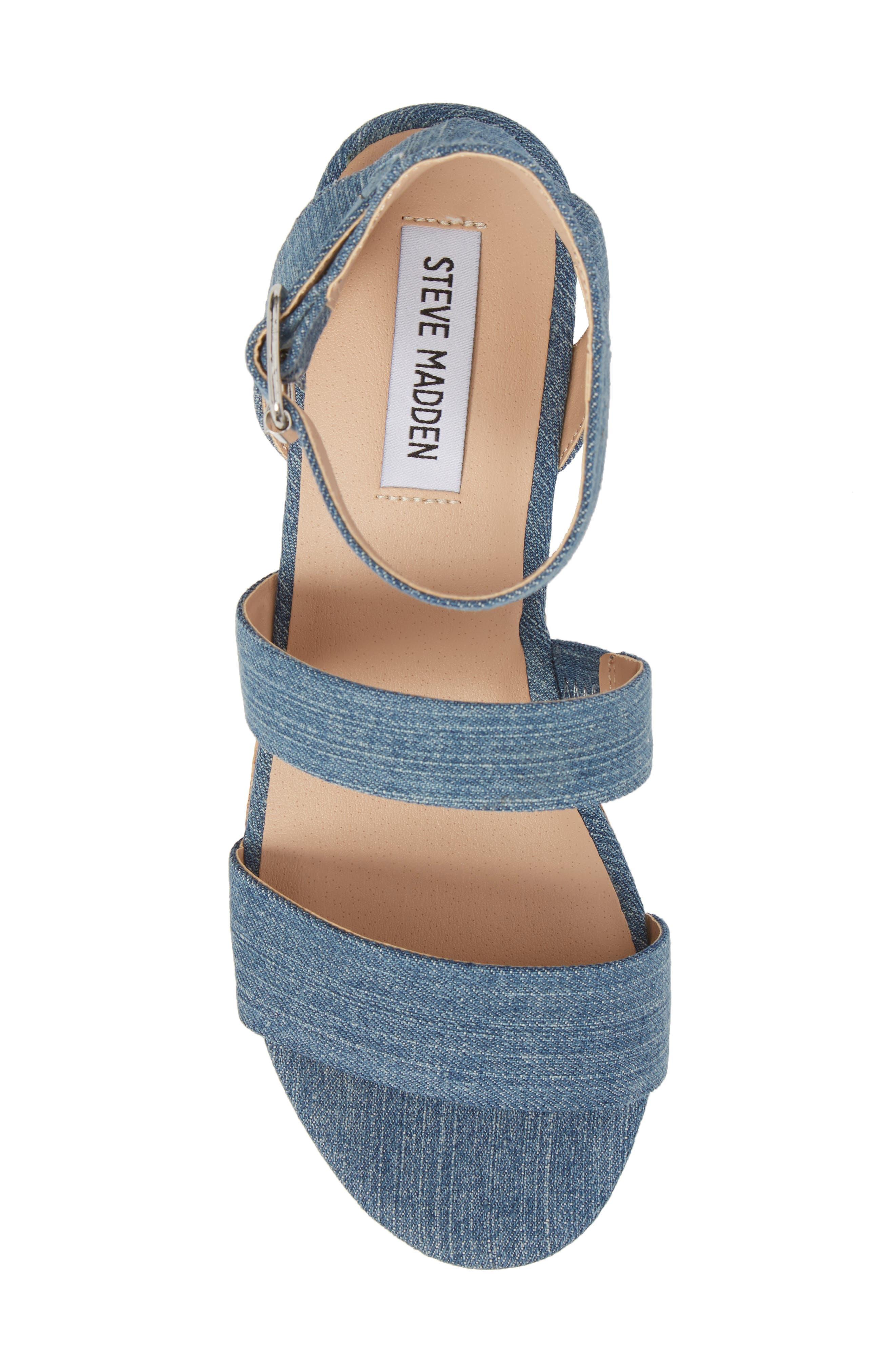 Alternate Image 5  - Steve Madden Kirsten Layered Platform Sandal (Women)