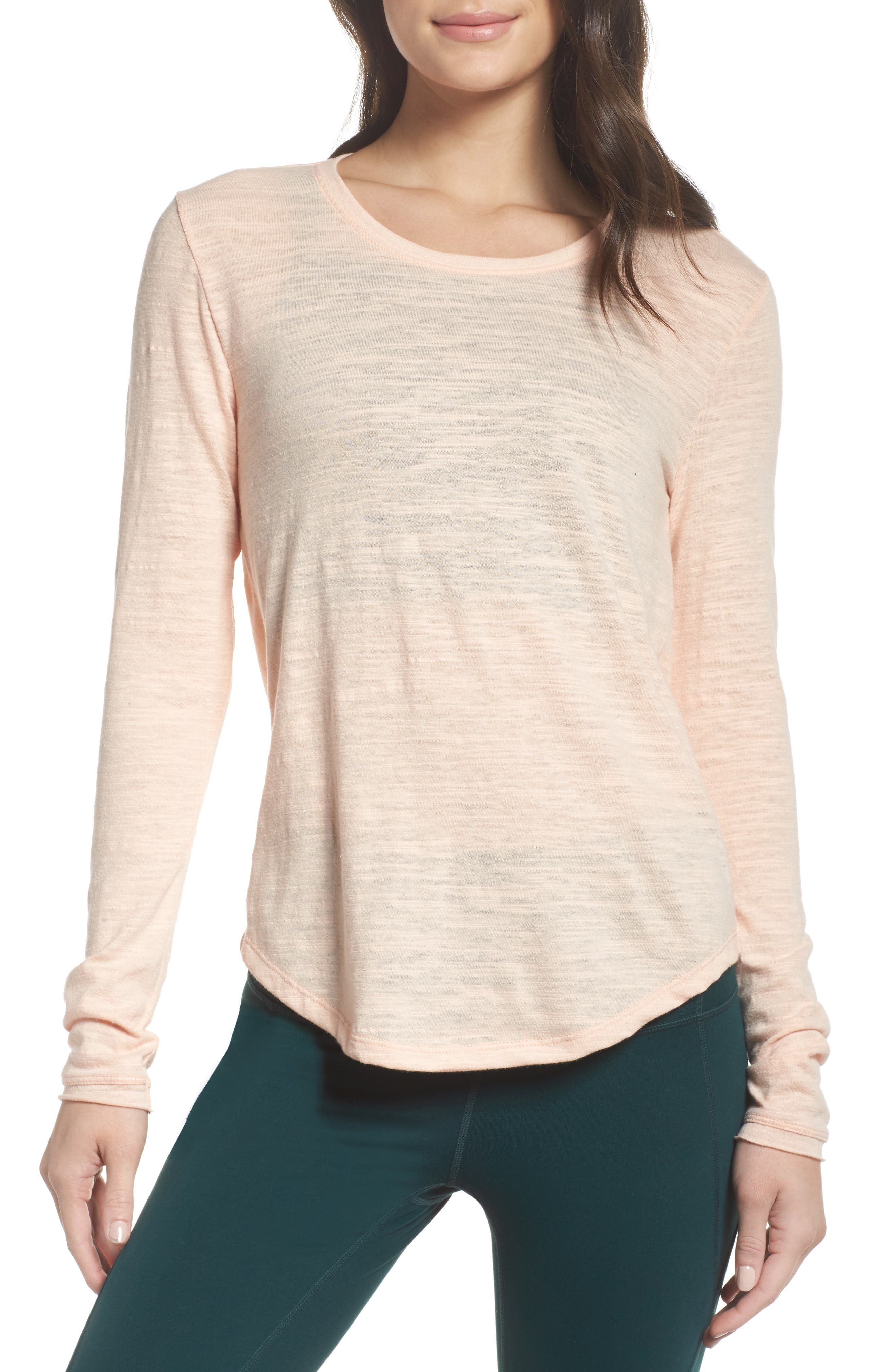 Zella Retreat Cutout Tee