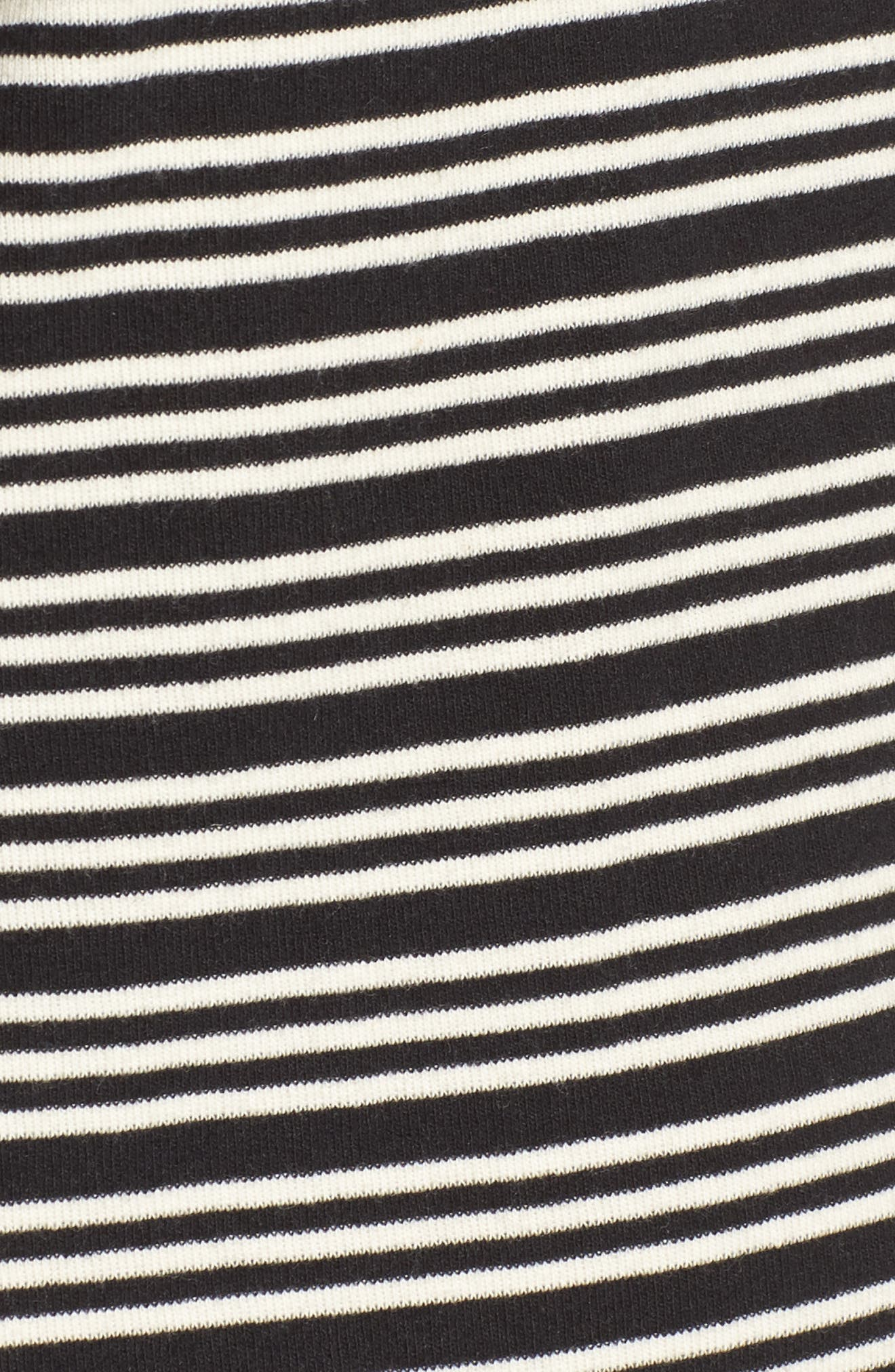 Alternate Image 5  - Obey Freya Stripe T-Shirt Dress