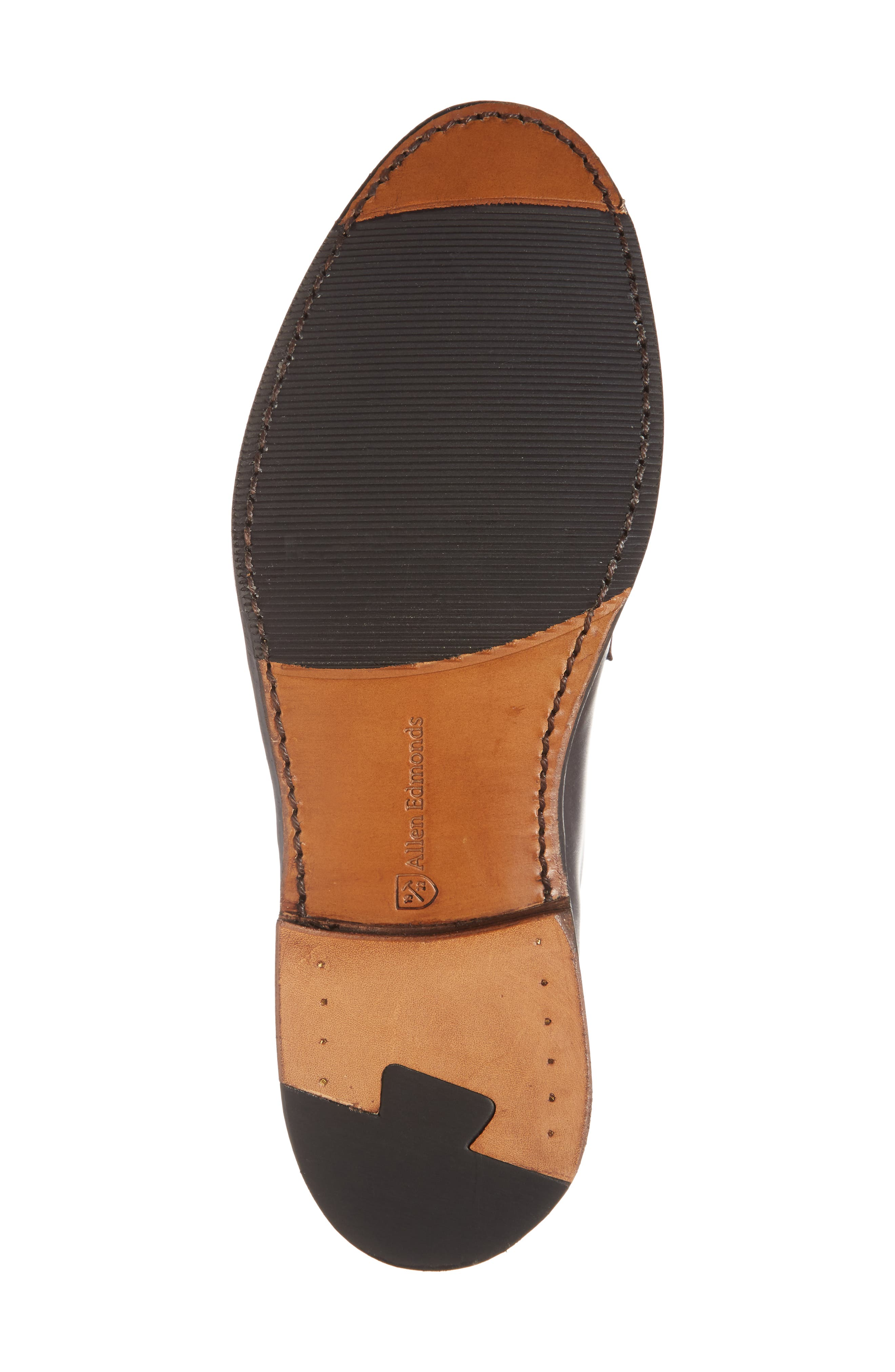Whitney Plain Toe Derby,                             Alternate thumbnail 6, color,                             Brown Leather