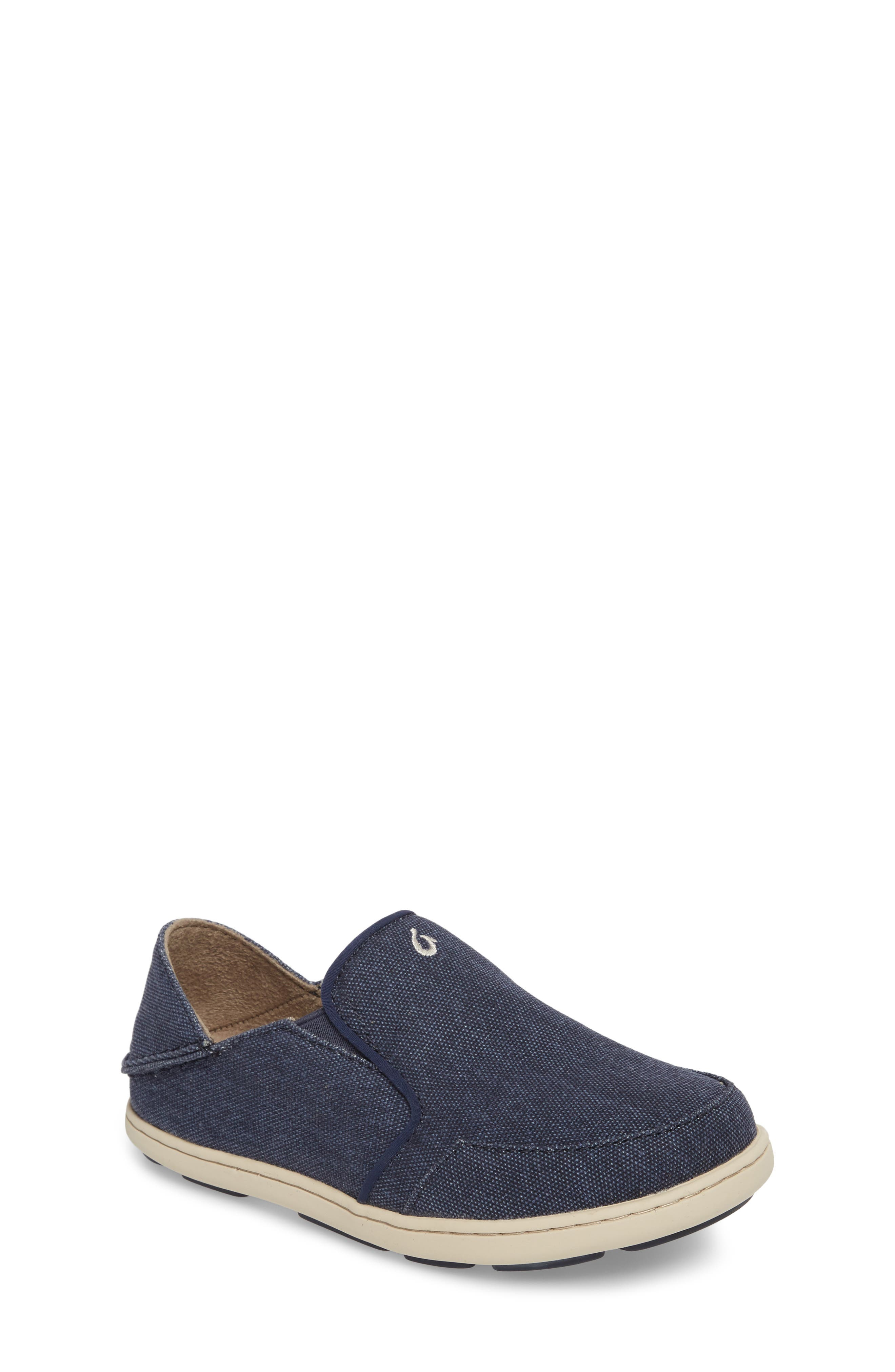 Nohea Lole Collapsible Slip-On,                             Main thumbnail 1, color,                             Trench Blue
