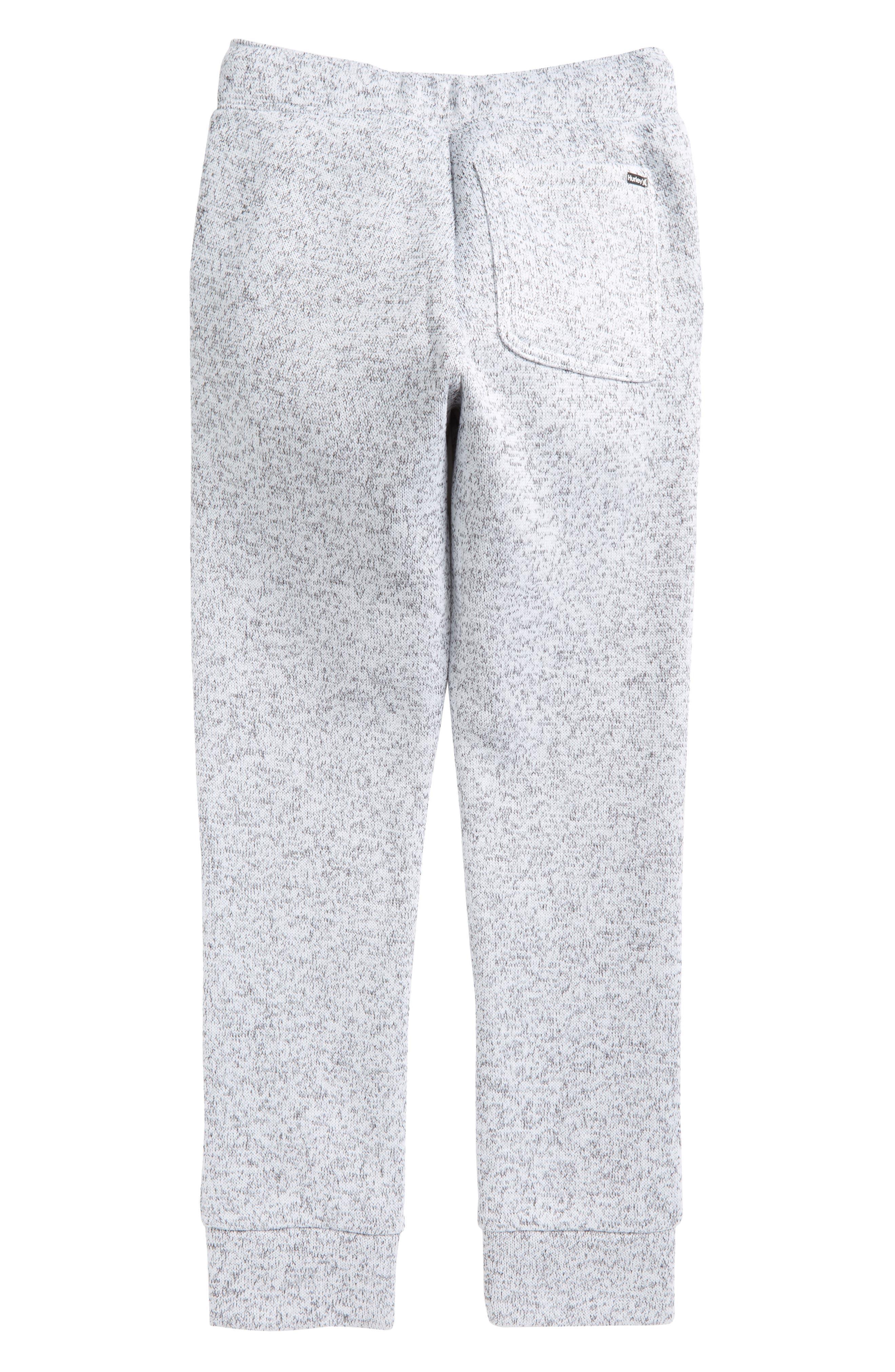Sweater Knit Fleece Pants,                             Alternate thumbnail 2, color,                             White