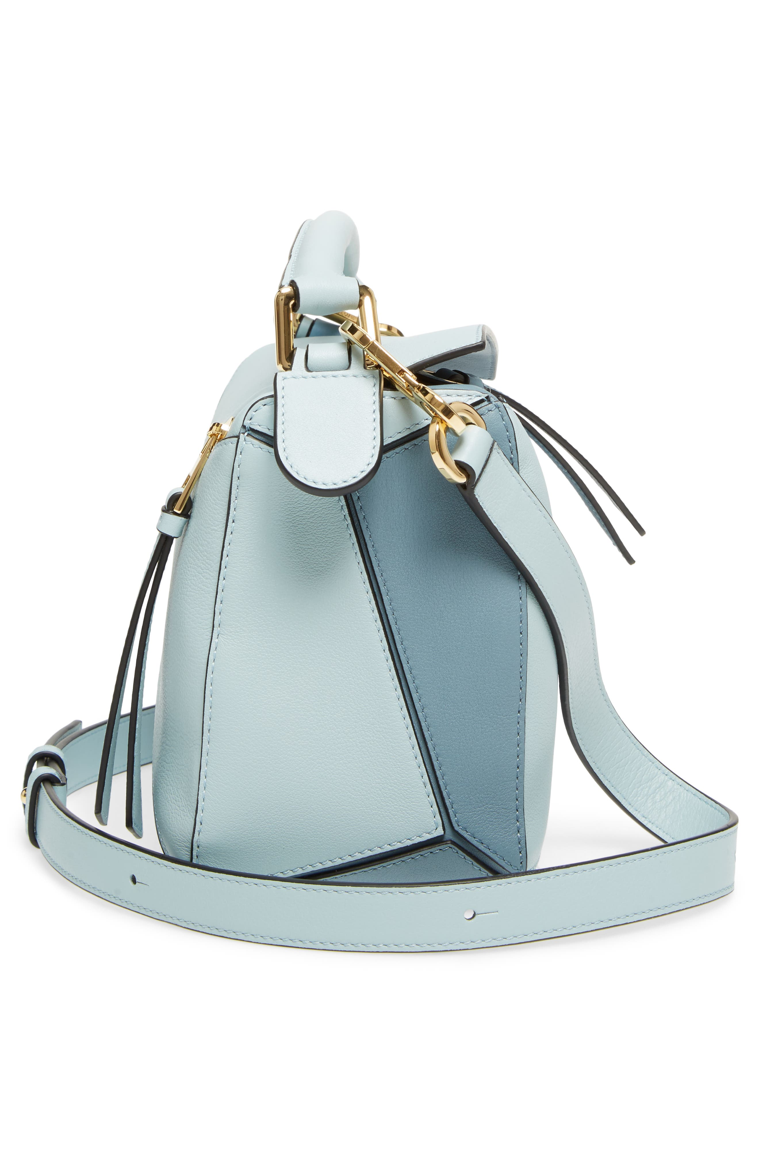 Alternate Image 5  - Loewe Small Puzzle Tricolor Leather Bag