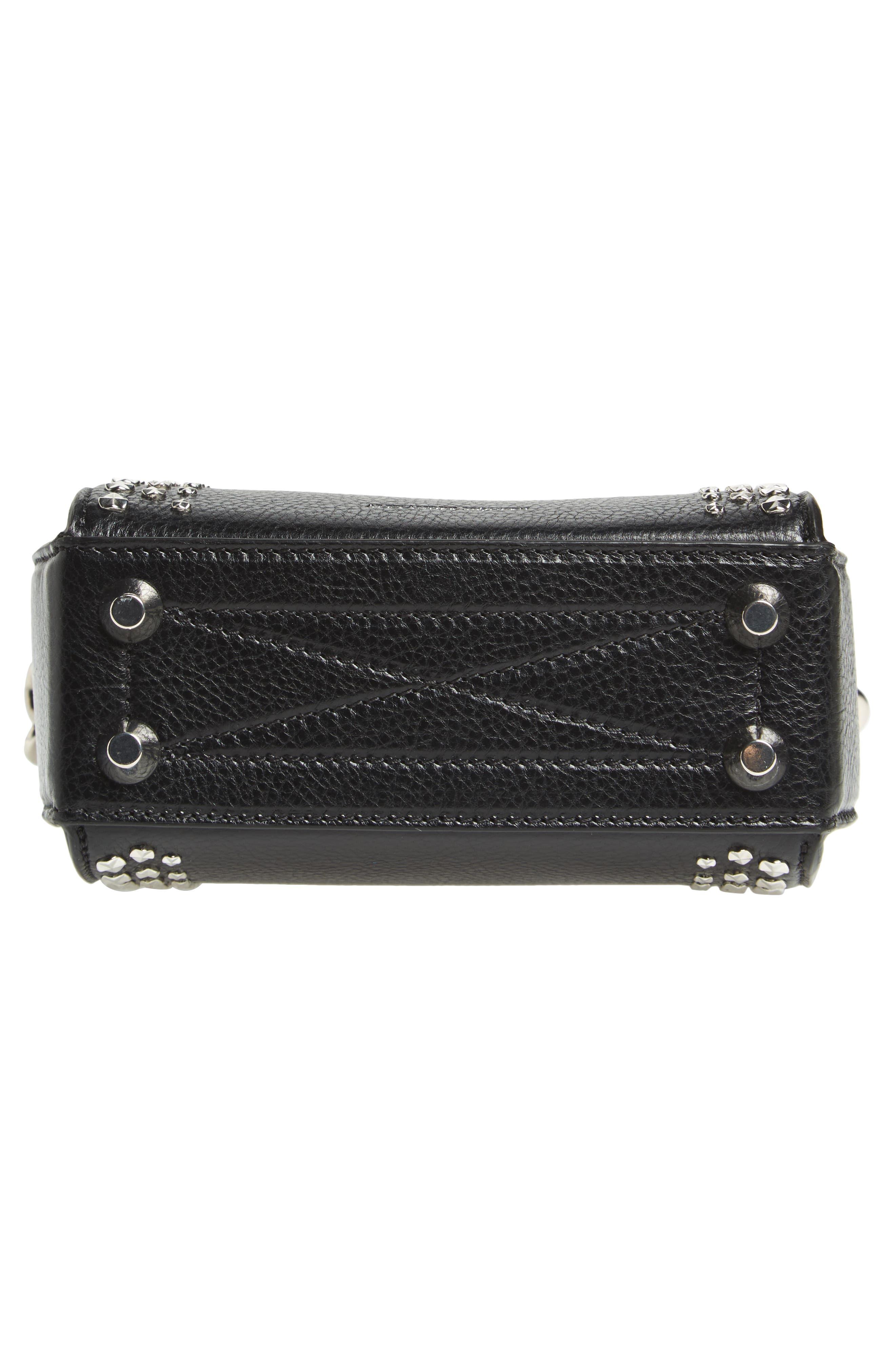 Alternate Image 7  - Alexander McQueen Box Bag 16 Studded Leather Bag