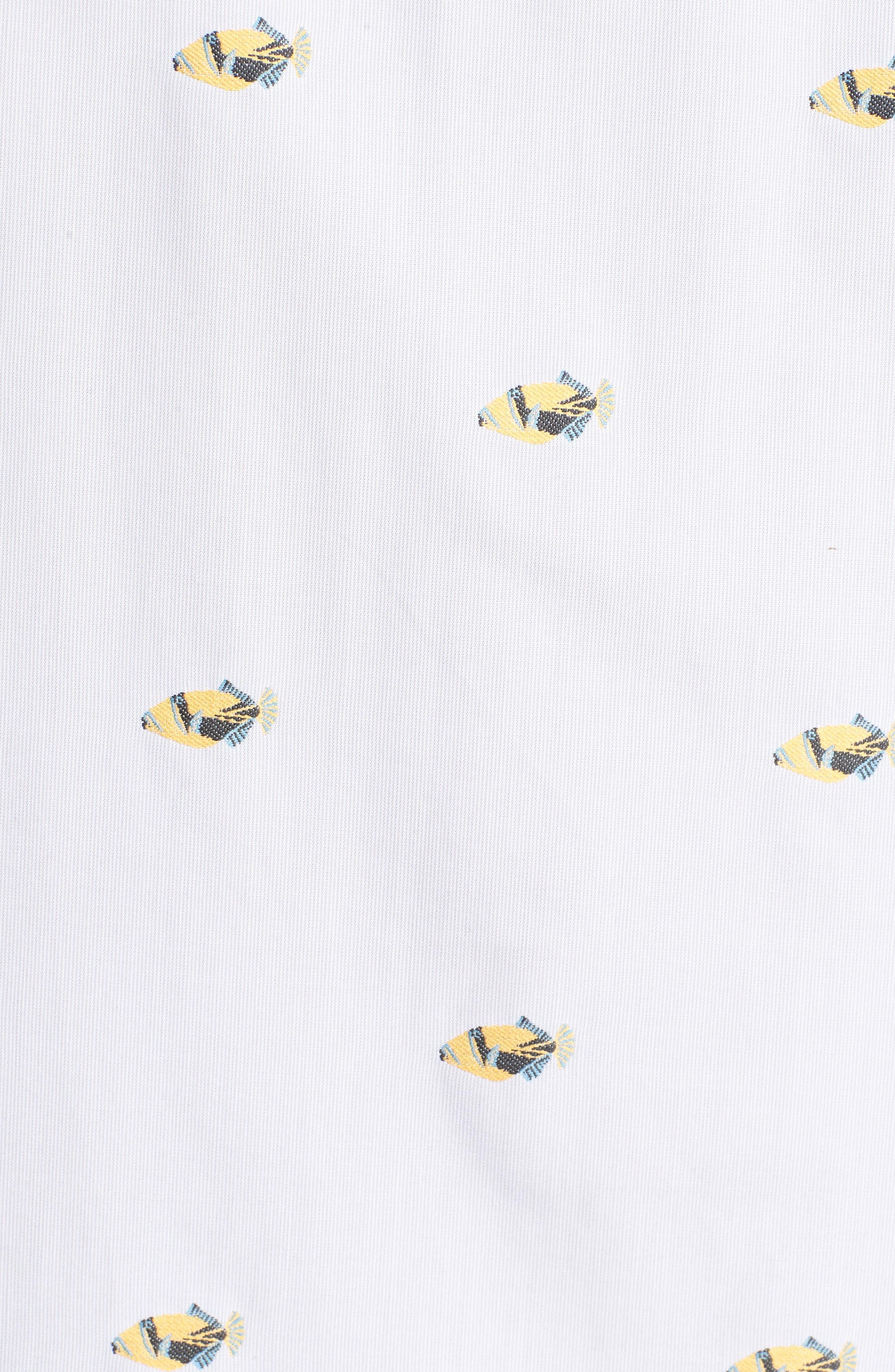 Alternate Image 5  - Tori Richard 1Humu 2Humu Embroidered Sport Shirt