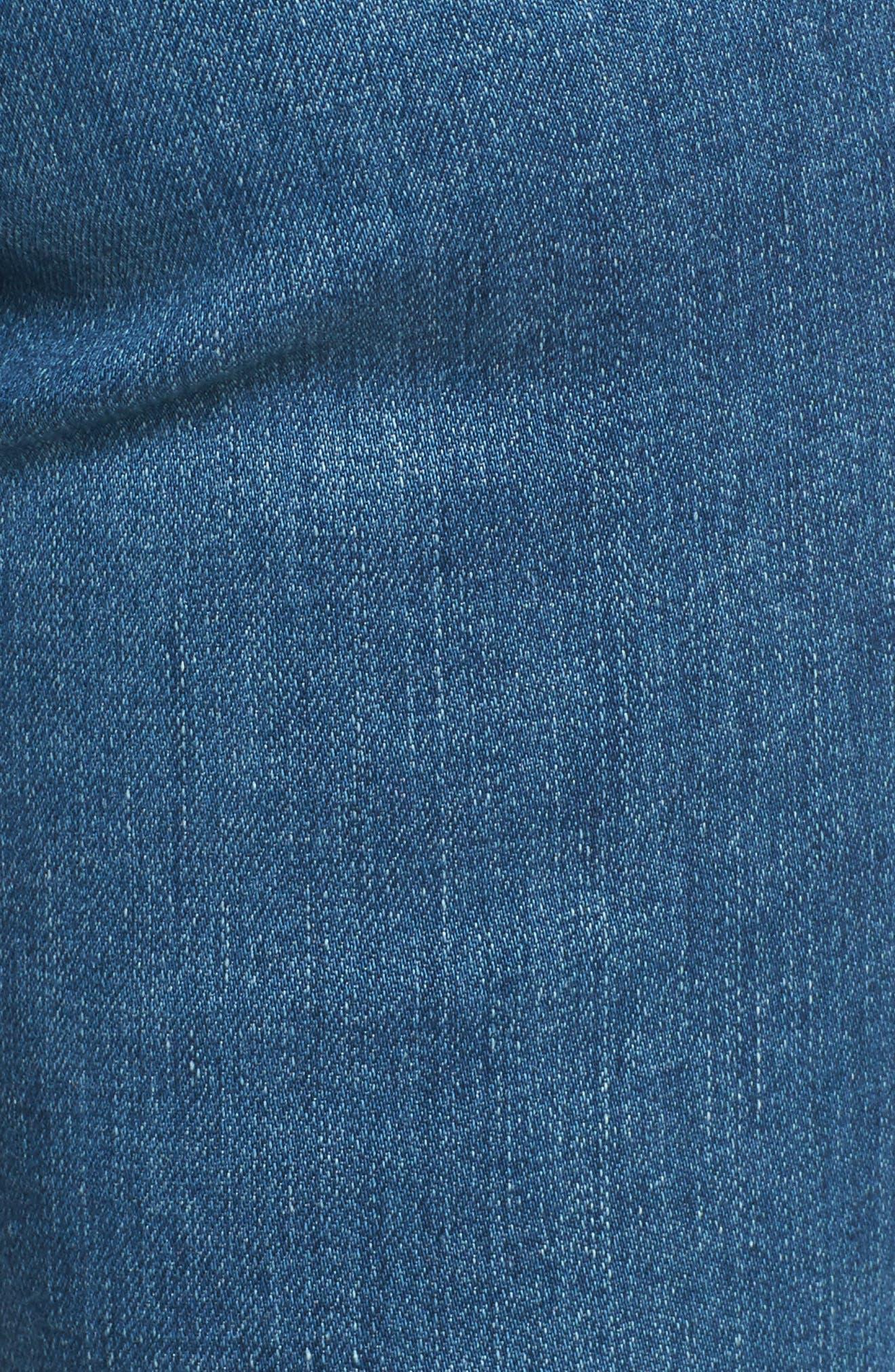 The Legging Super Skinny Jeans,                             Alternate thumbnail 6, color,                             Indigo Viking
