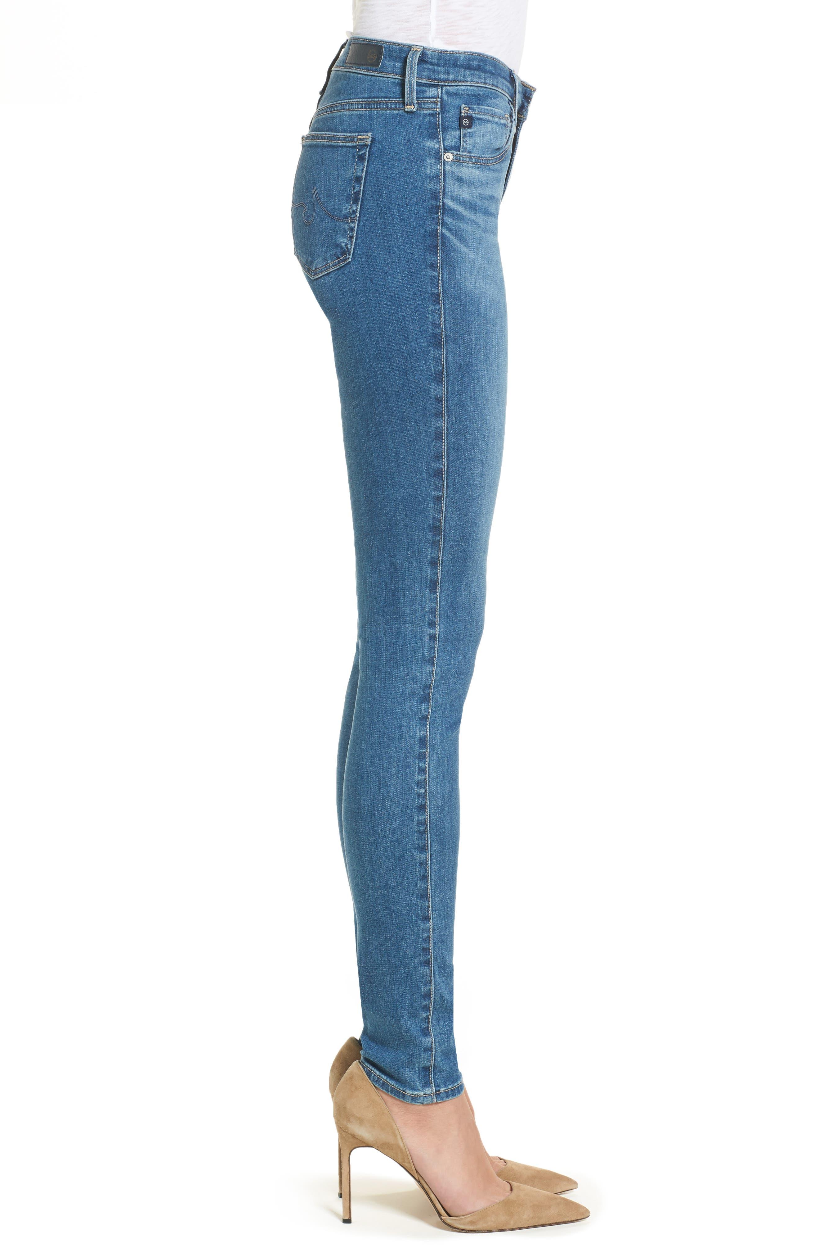 The Legging Super Skinny Jeans,                             Alternate thumbnail 3, color,                             Indigo Viking