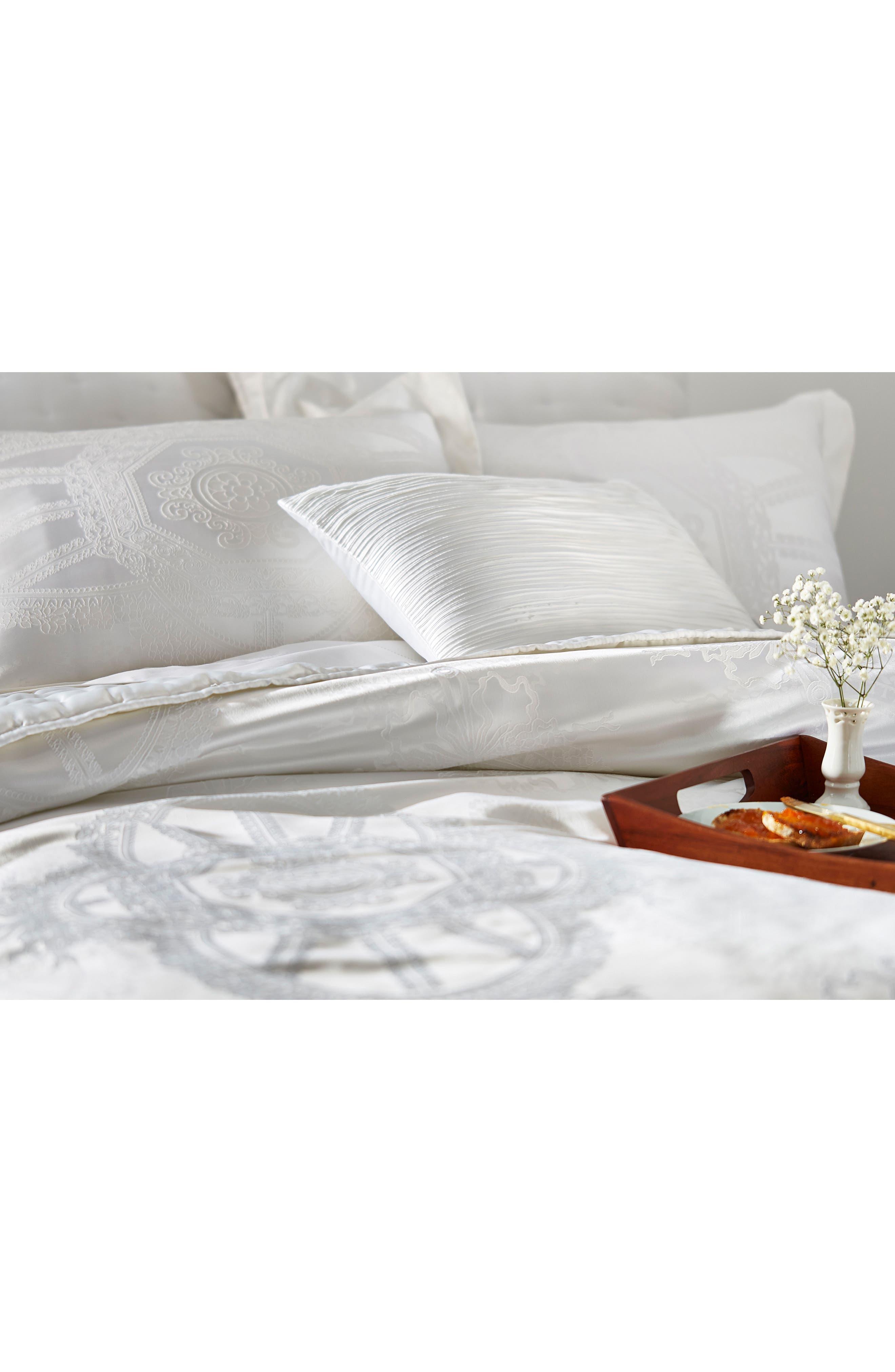 Versailles Comforter & Sham Set,                             Alternate thumbnail 7, color,                             White