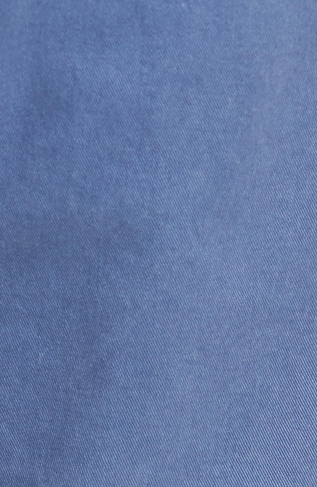 Lennox Slim Fit Five-Pocket Pants,                             Alternate thumbnail 5, color,                             Vintage Mariner
