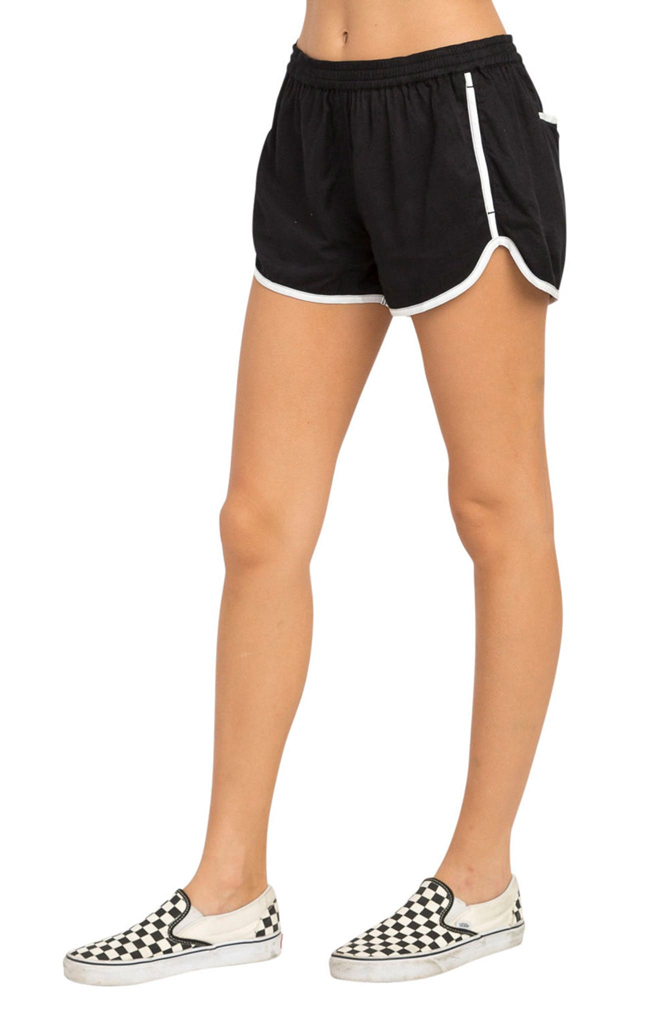 Cruising Dolphin Shorts,                             Alternate thumbnail 4, color,                             Black