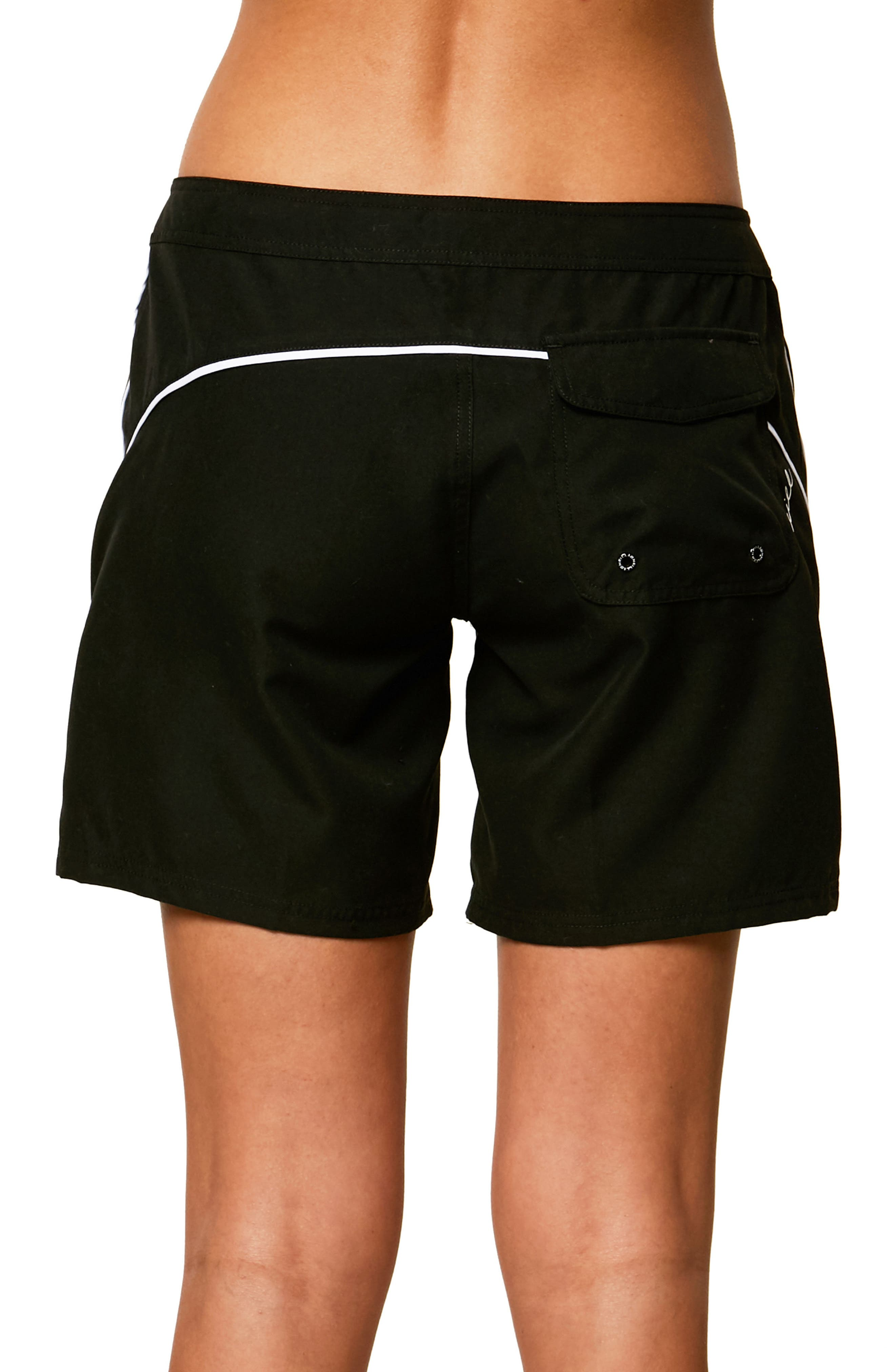 Salt Water Board Shorts,                             Alternate thumbnail 2, color,                             Black