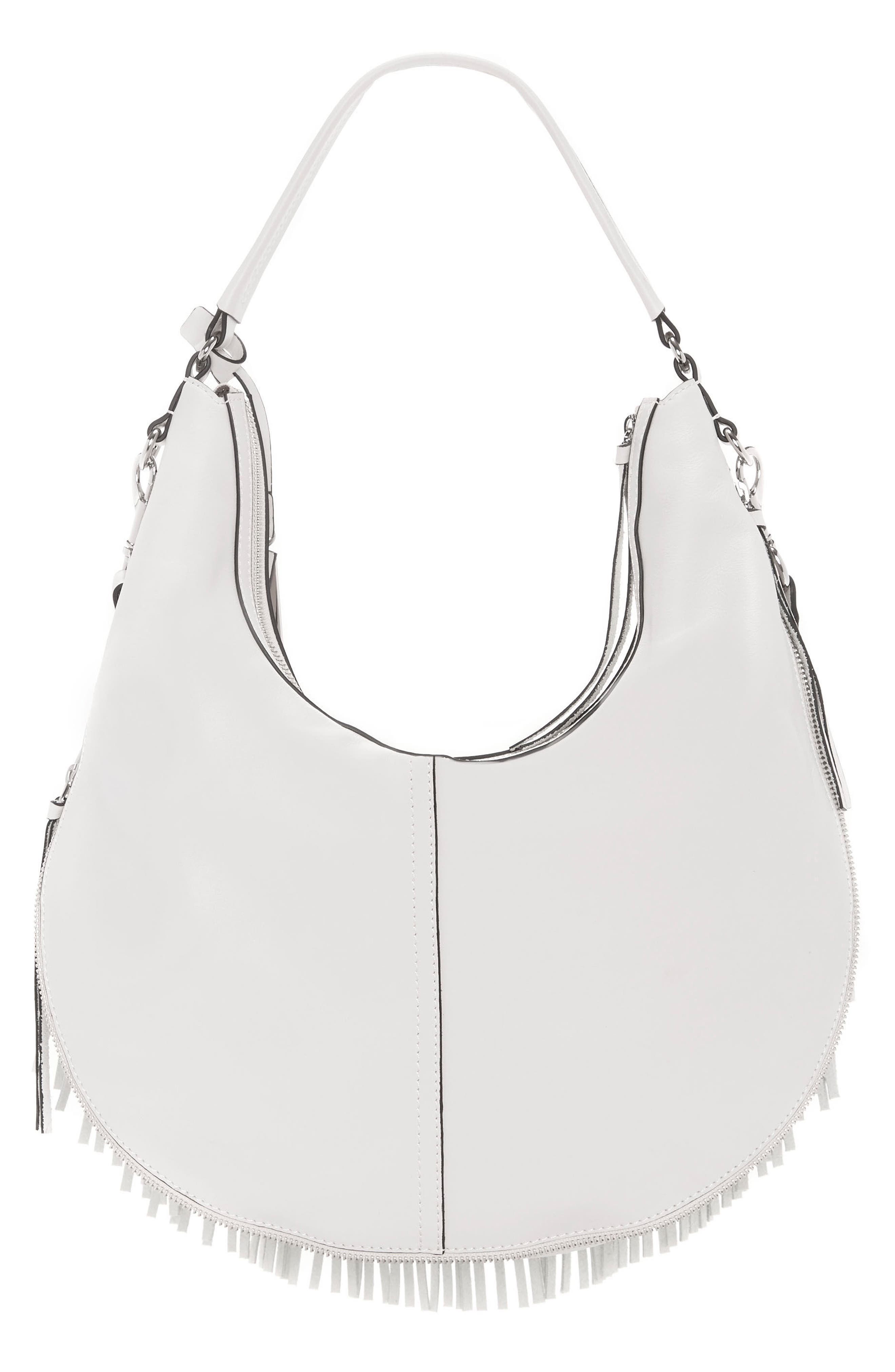 Alternate Image 2  - Vince Camuto Hil Leather Hobo Bag