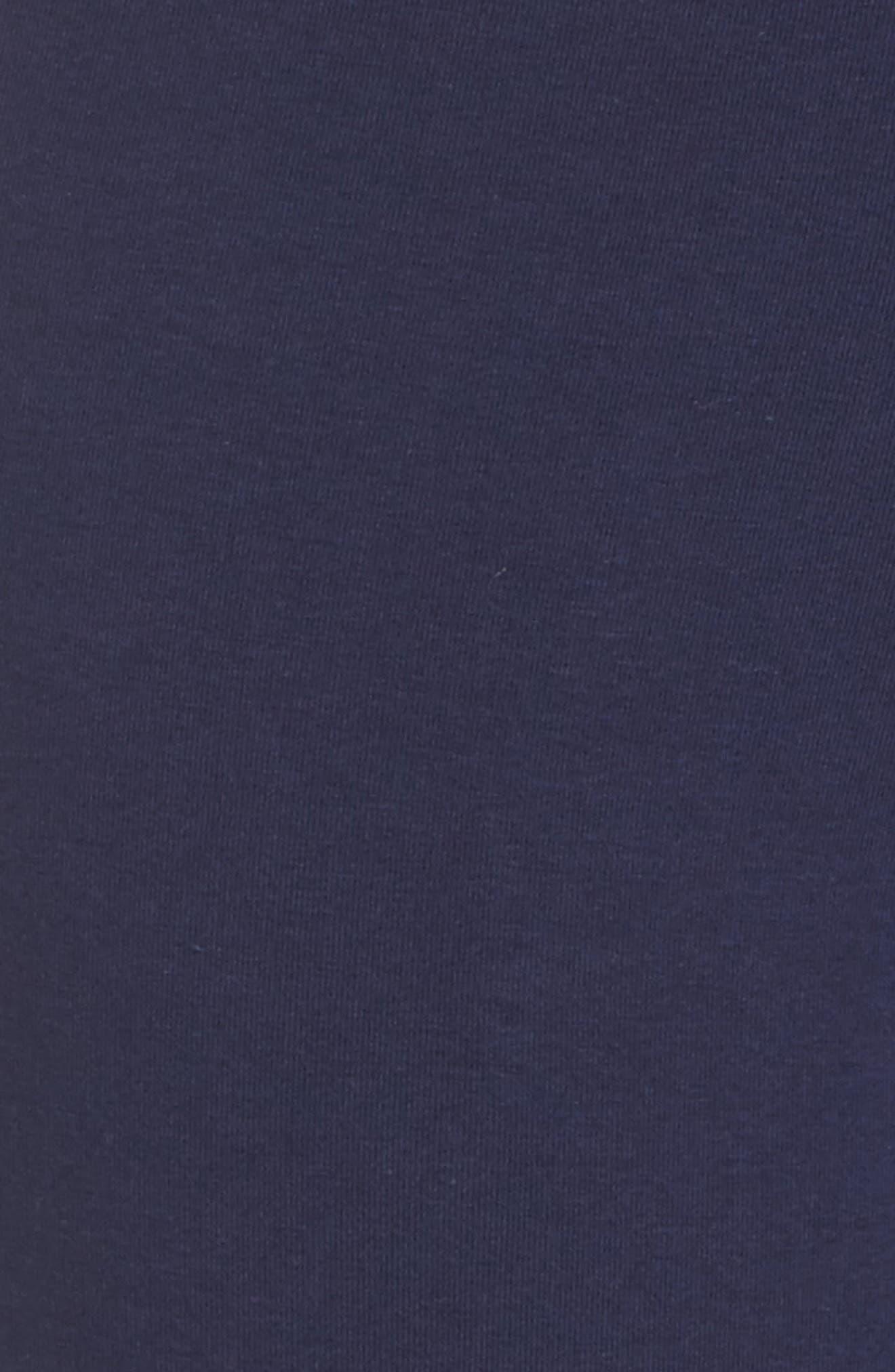 Phoebe Leggings,                             Alternate thumbnail 5, color,                             Navy/ Mustard Gold/ White