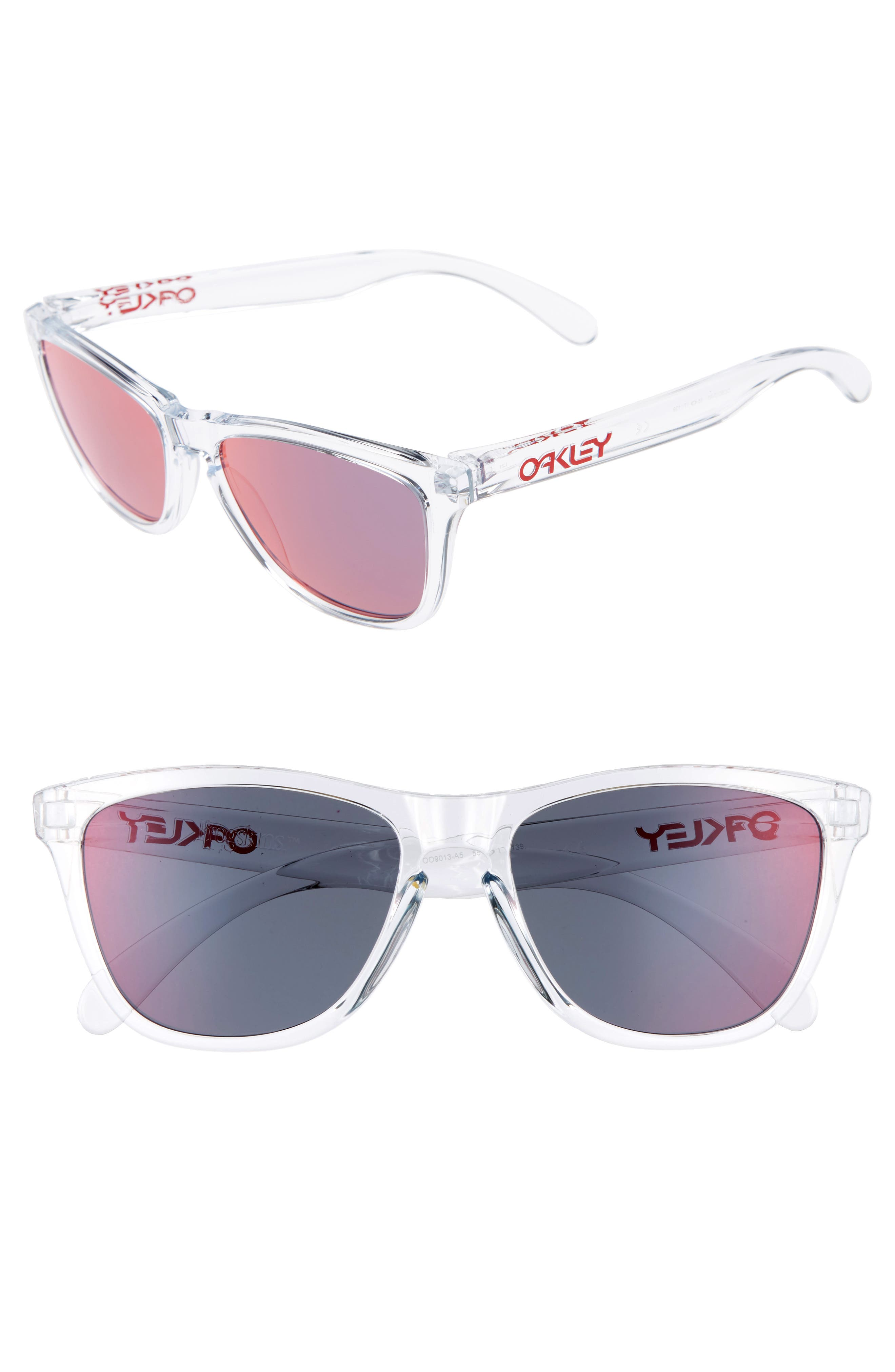 Frogskins 55mm Sunglasses,                             Main thumbnail 1, color,                             Torch Iridescent