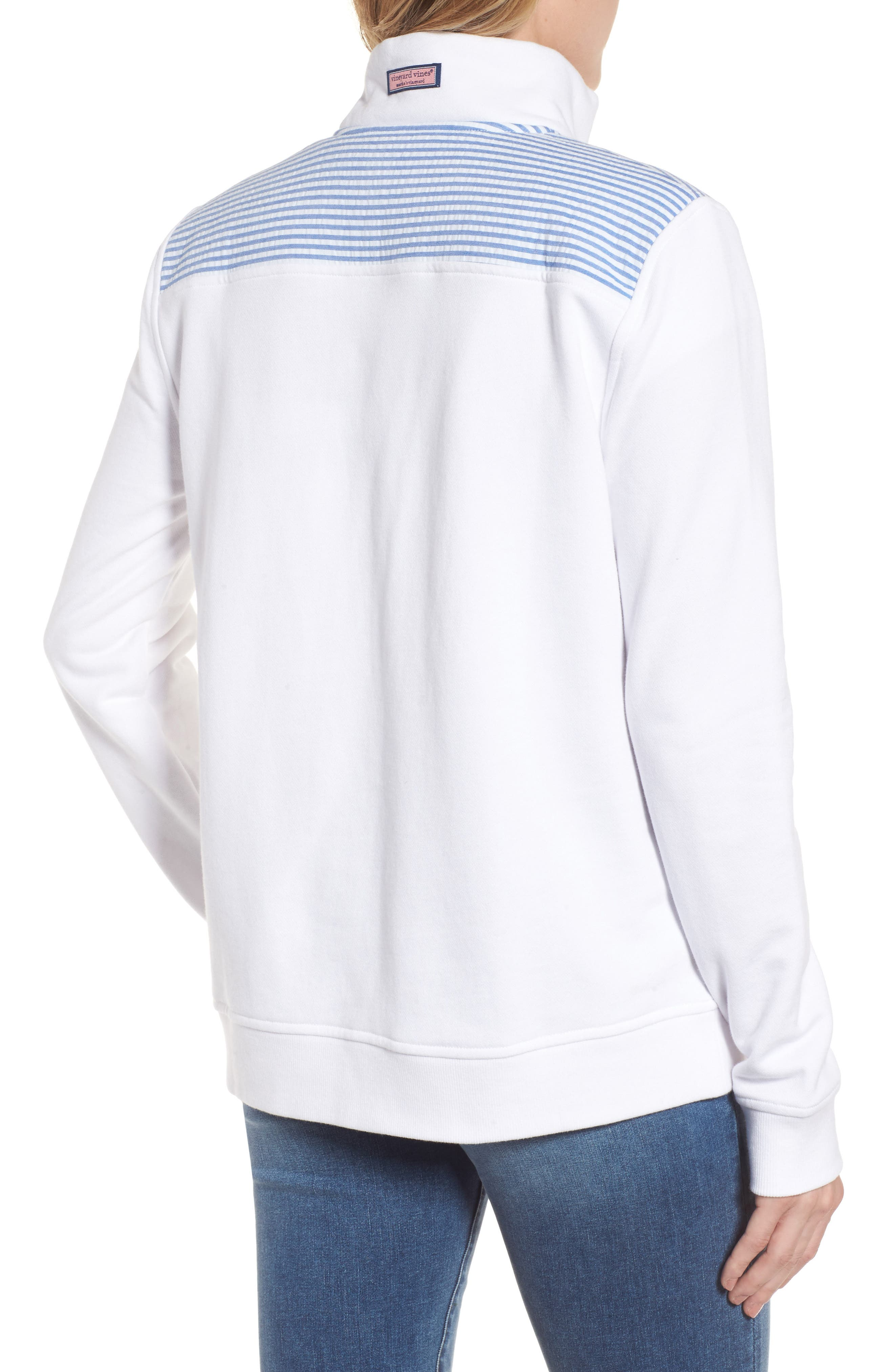 Alternate Image 2  - vineyard vines Shep Quarter Zip Pullover