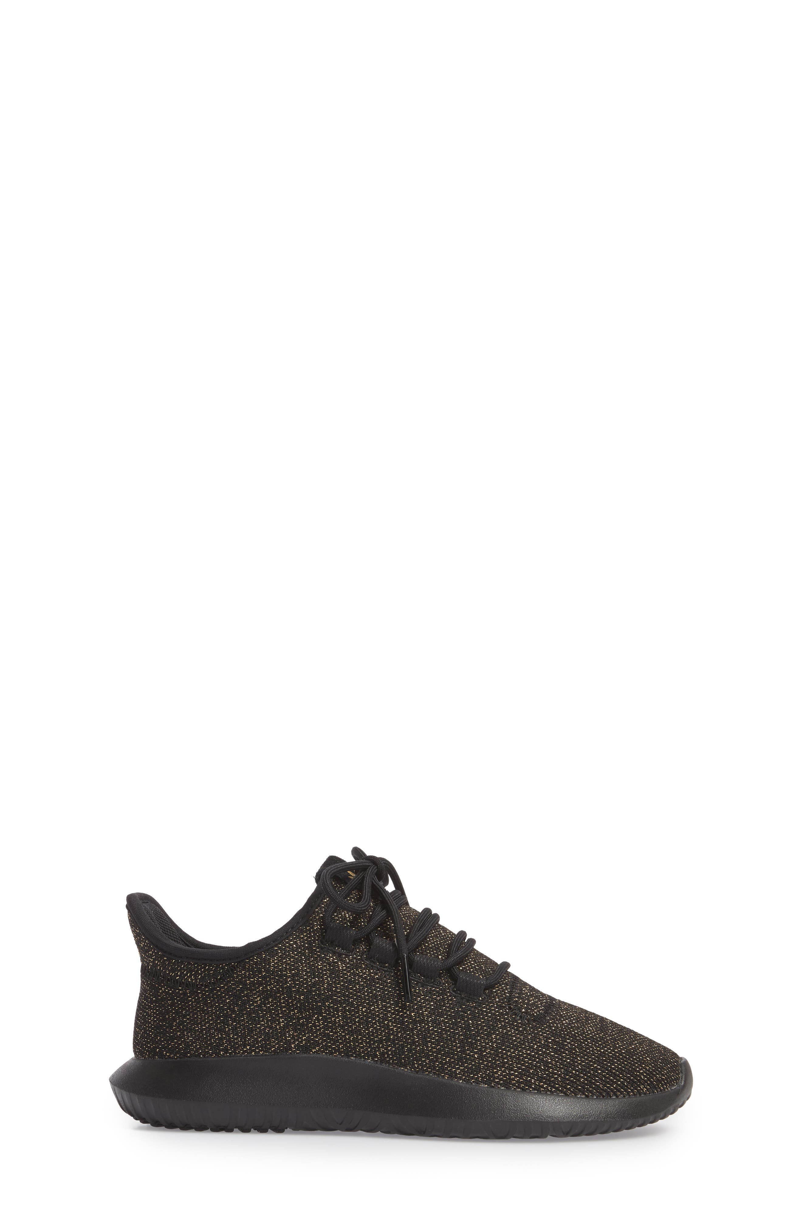 Tubular Shadow Sneaker,                             Alternate thumbnail 3, color,                             Core Black