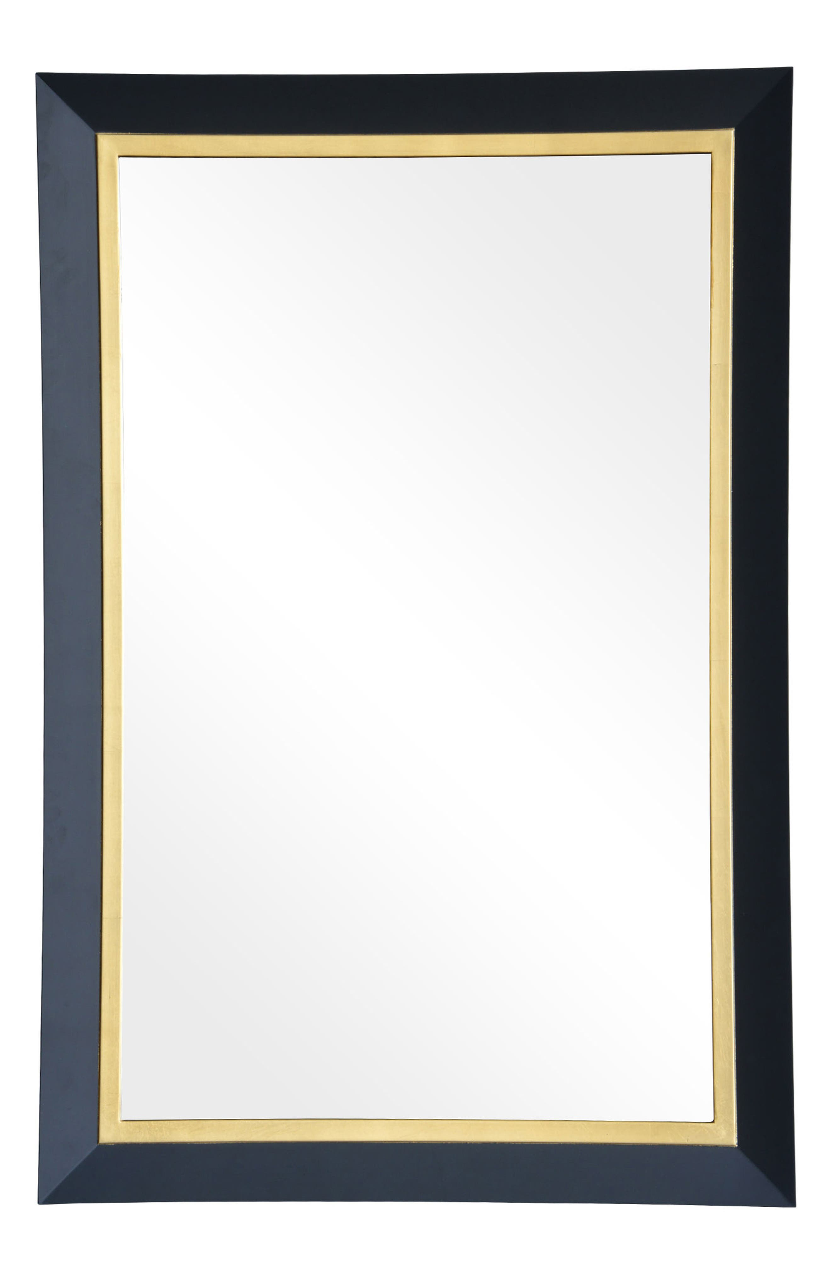 Beillings Mirror,                             Main thumbnail 1, color,                             Dark Grey And Antique Gold