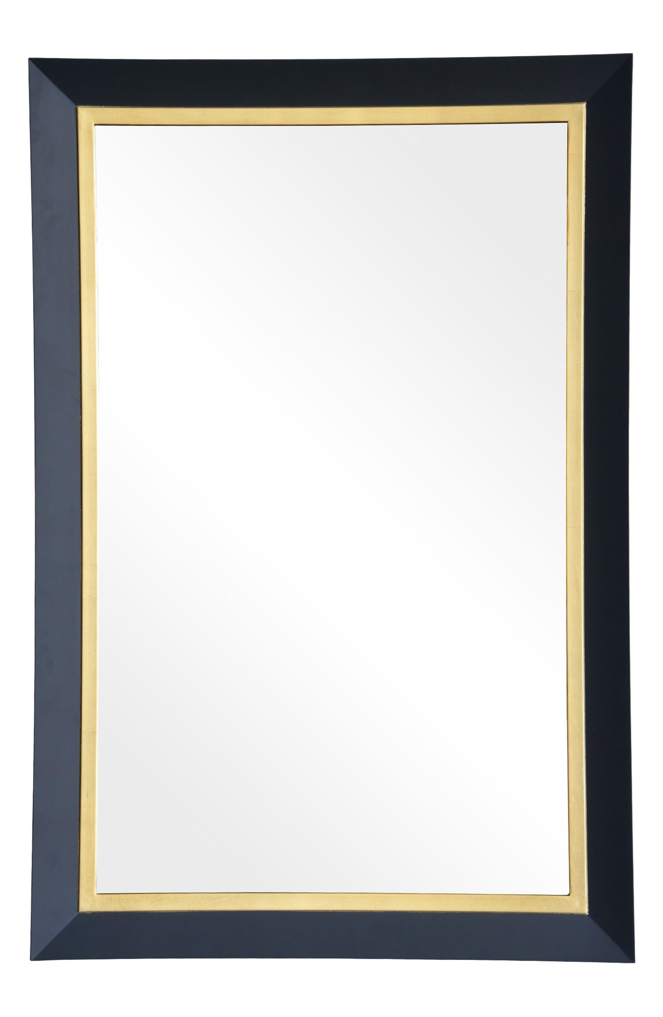 Beillings Mirror,                         Main,                         color, Dark Grey And Antique Gold