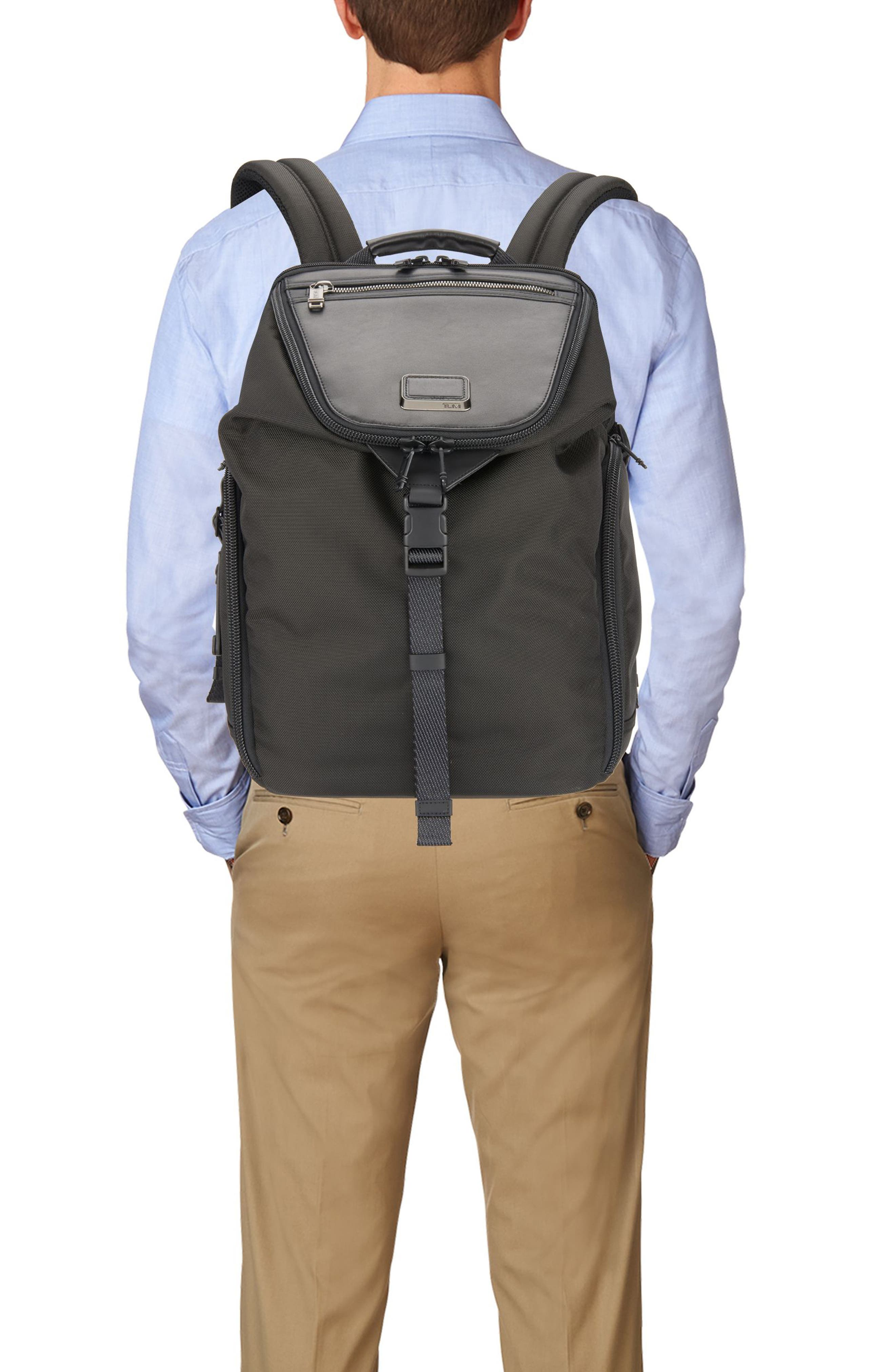 Alpha Bravo - Willow Backpack,                             Alternate thumbnail 2, color,                             Black