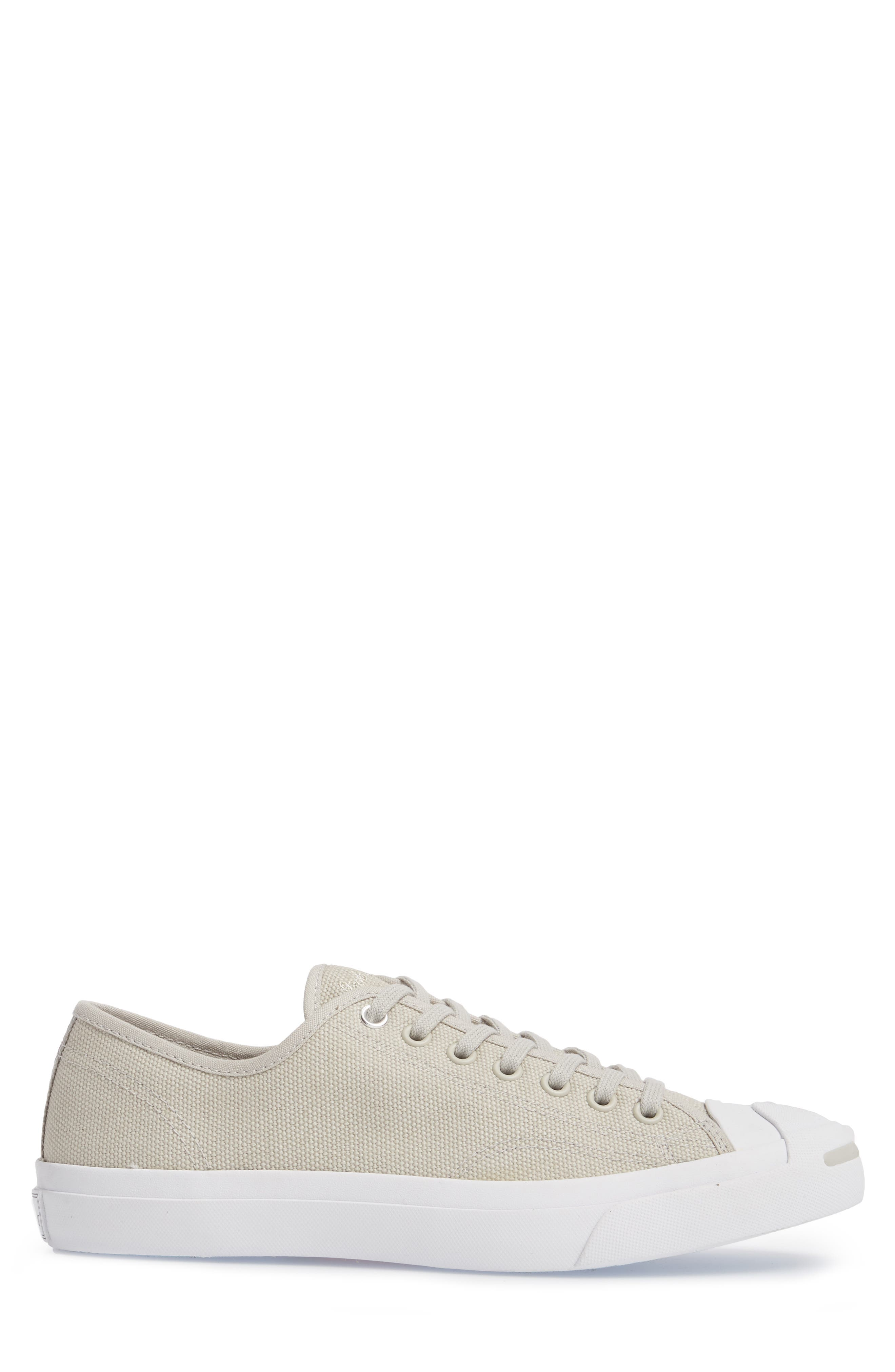 Jack Purcell Sneaker,                             Alternate thumbnail 3, color,                             Pale Grey Canvas