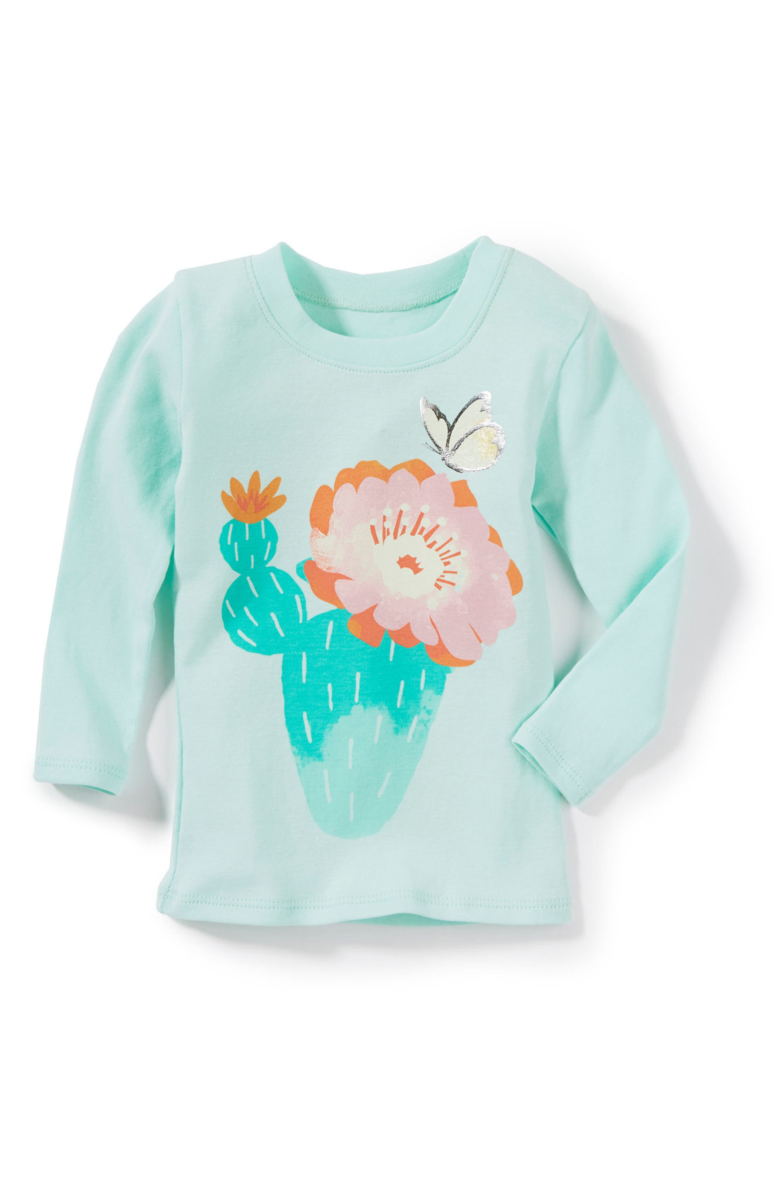 Peek Cactus Graphic Tee (Baby Girls)