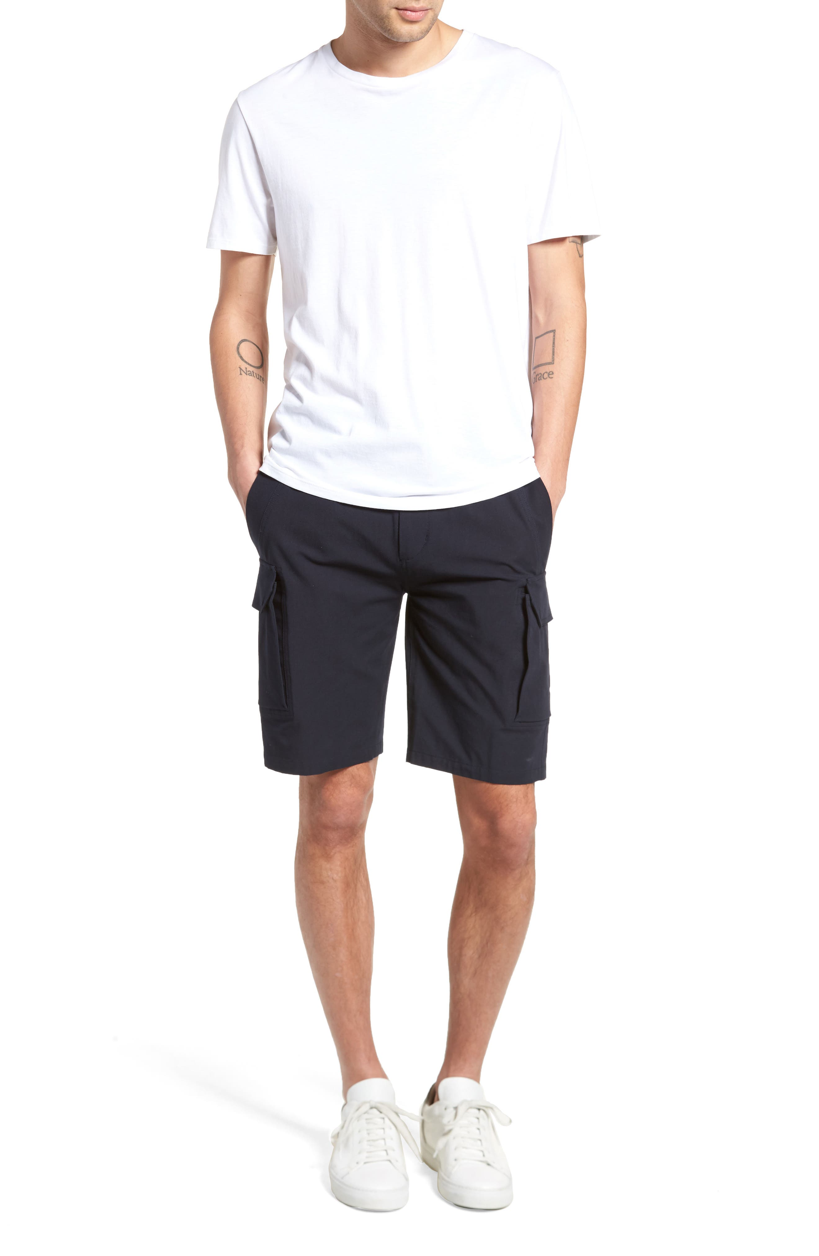 Regular Fit Drawstring Shorts,                             Alternate thumbnail 2, color,                             New Coastal